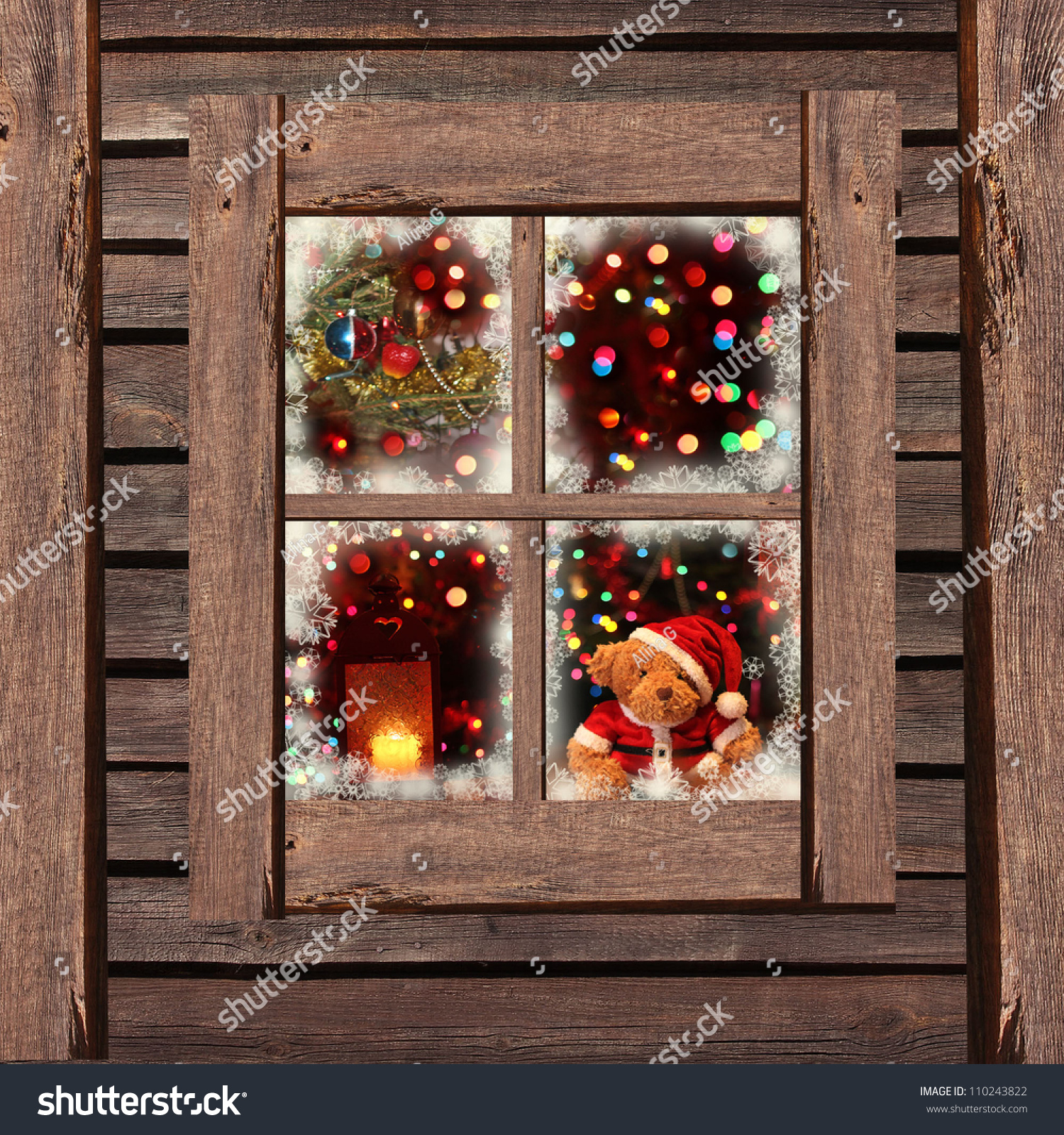 Indoor Christmas Window Lights