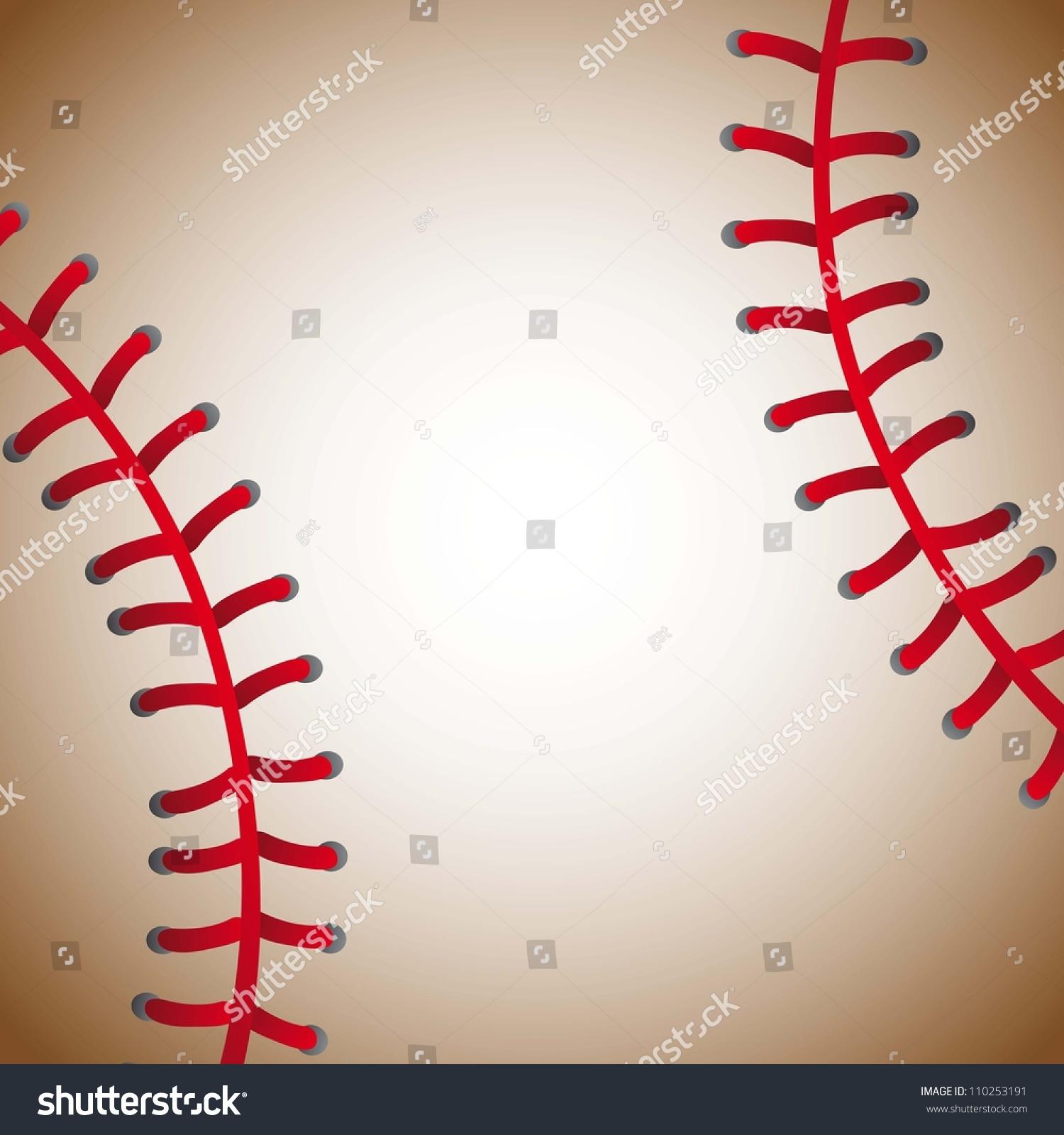baseball ball texture background old vector stock vector