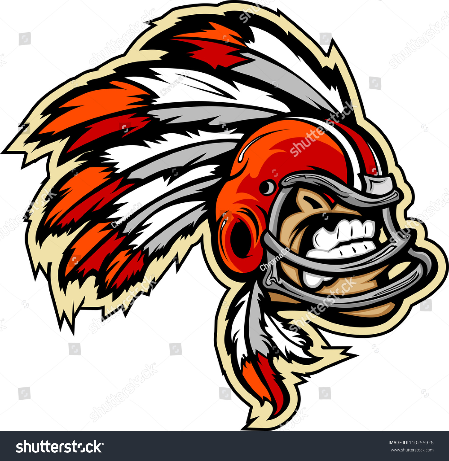 indian chief football logo wwwimgkidcom the image