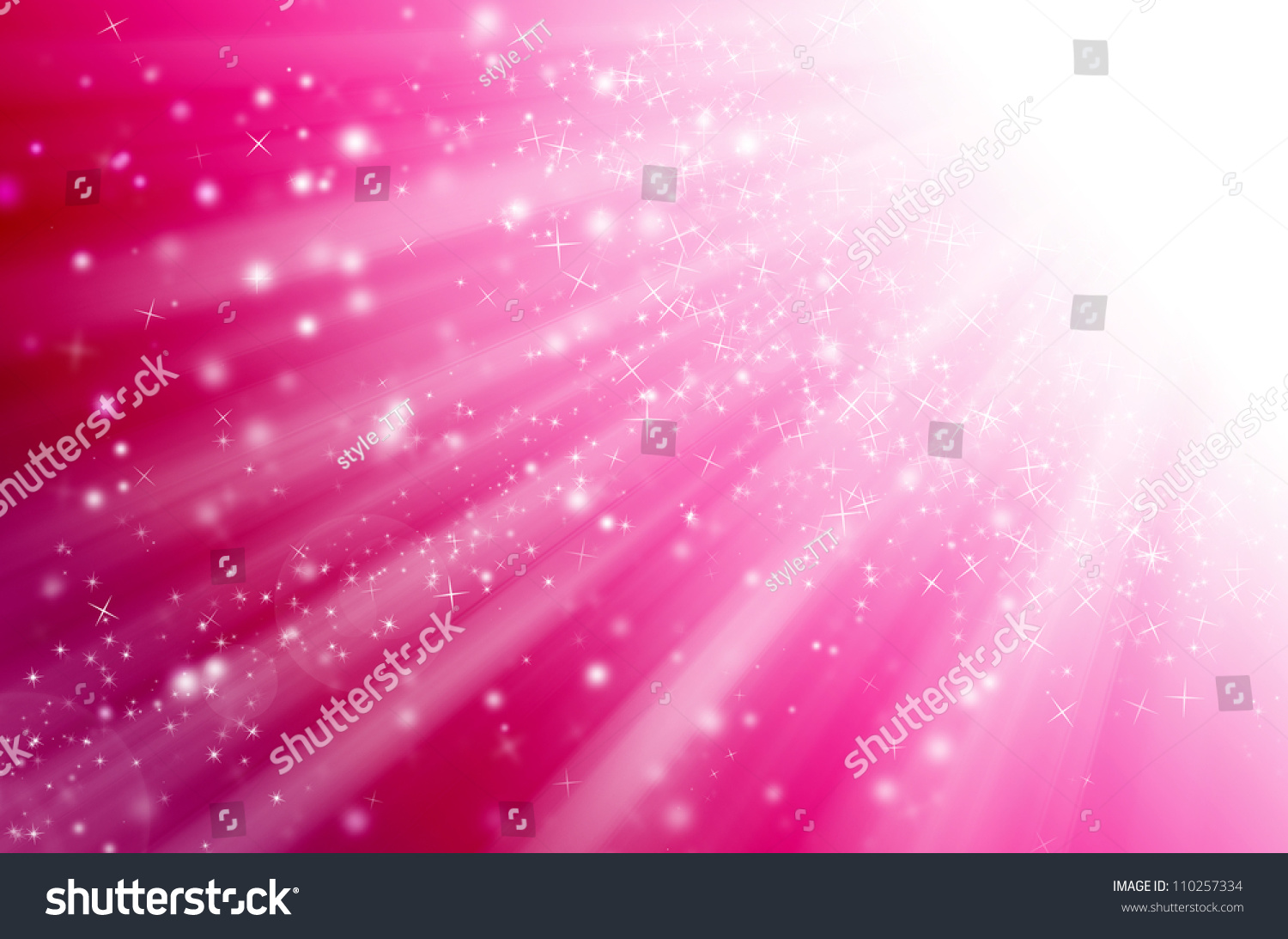 Star Light Pink Background Stock Illustration 110257334 - Shutterstock