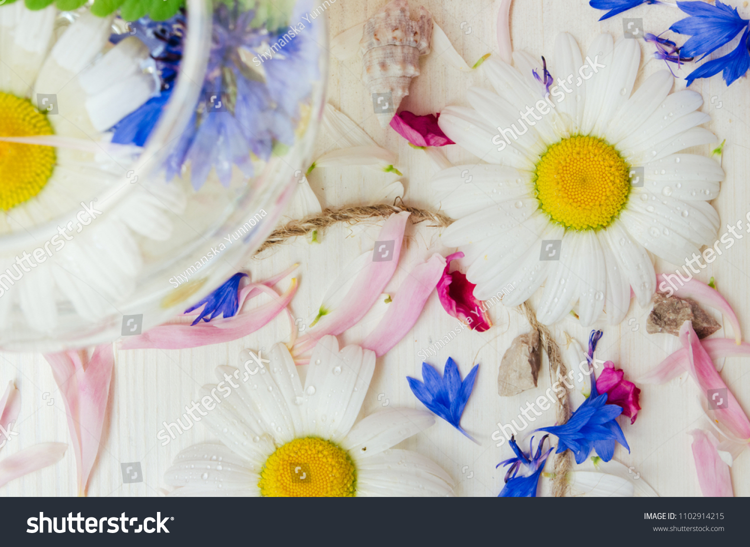 theme of the flowers