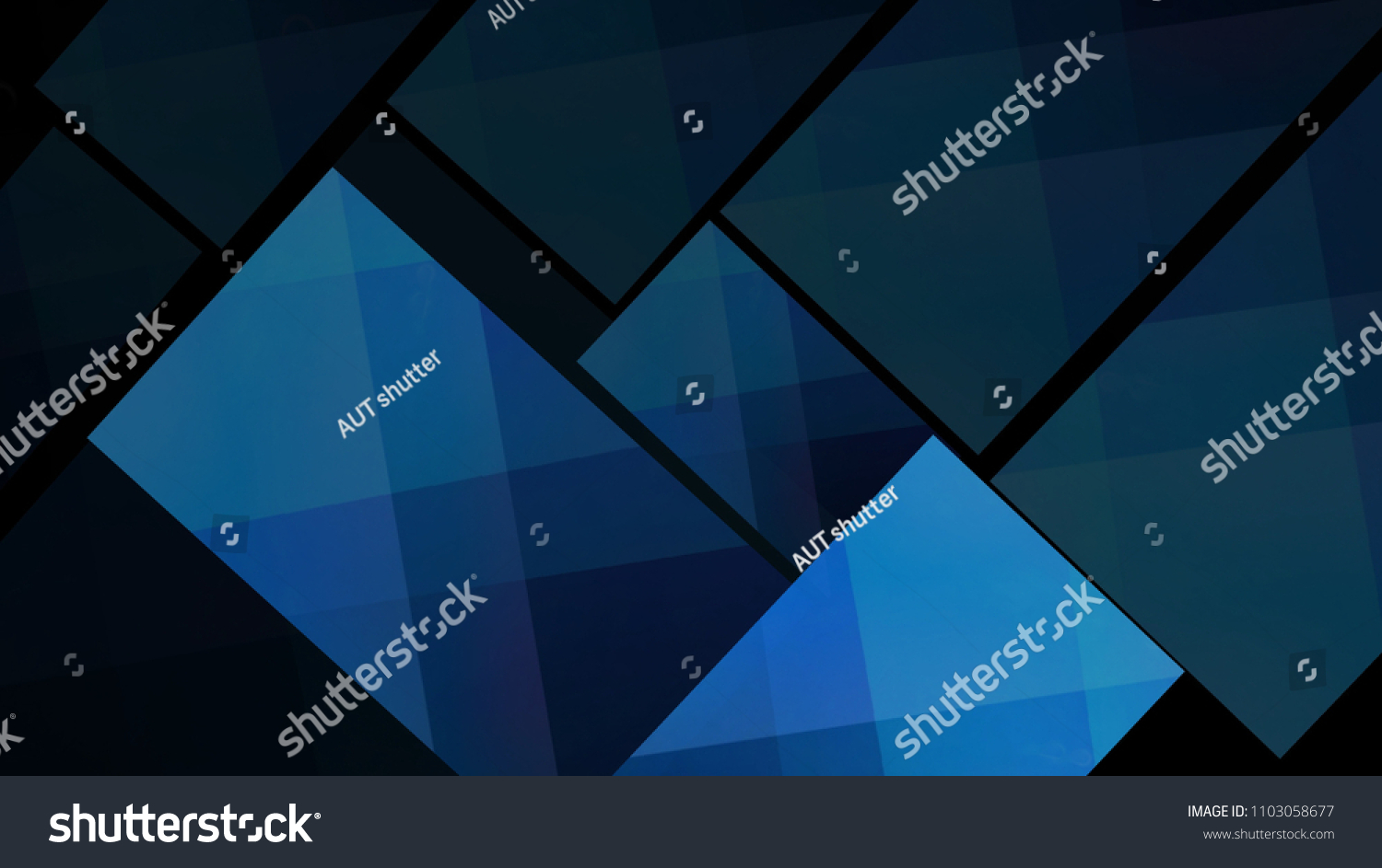 Royalty Free Stock Illustration Of Abstract Blue Bokeh Lights