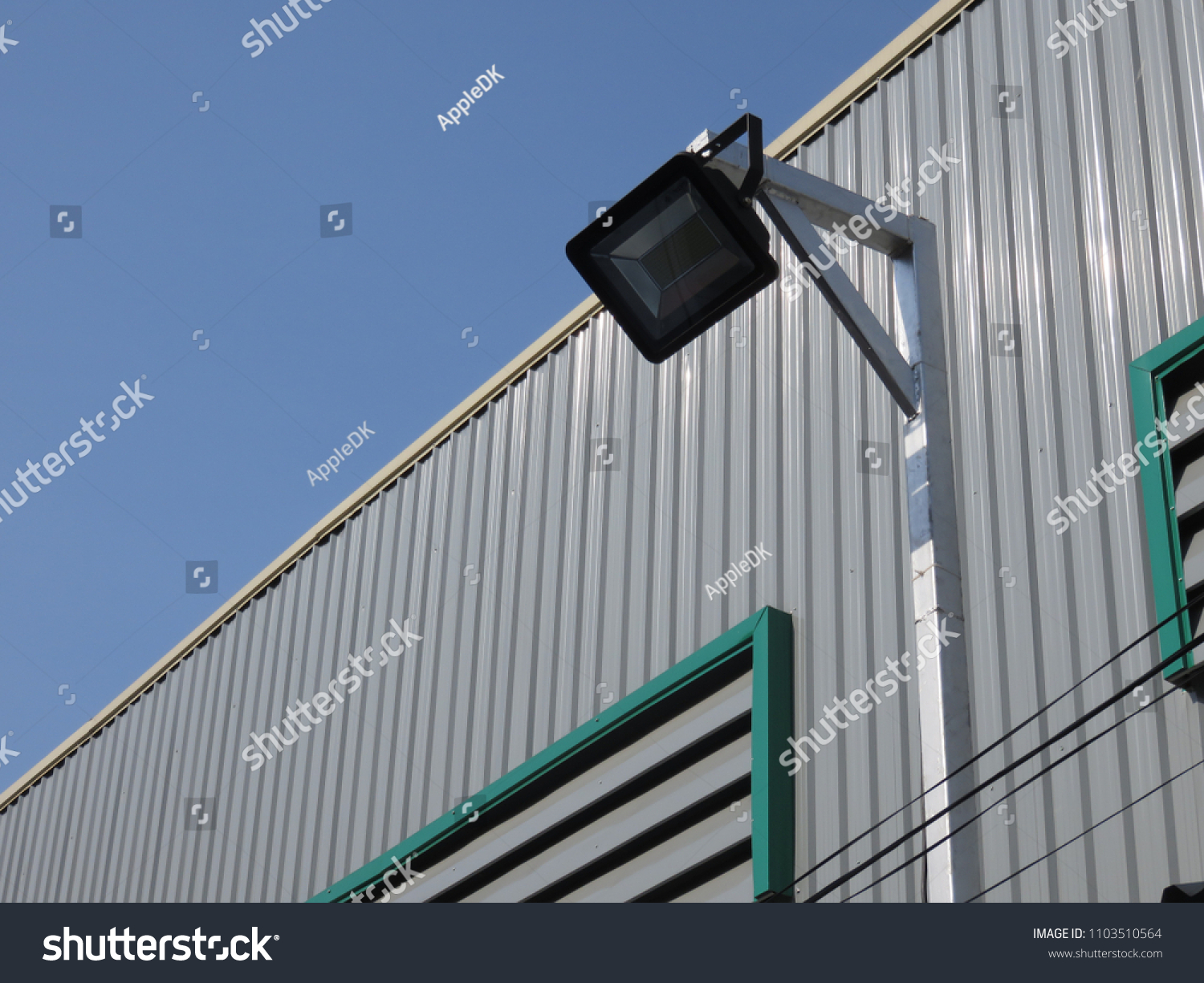 Led flood light indoor outdoor cost stock photo royalty free led flood light for indoor and outdoor are cost effective to run and the low aloadofball Images