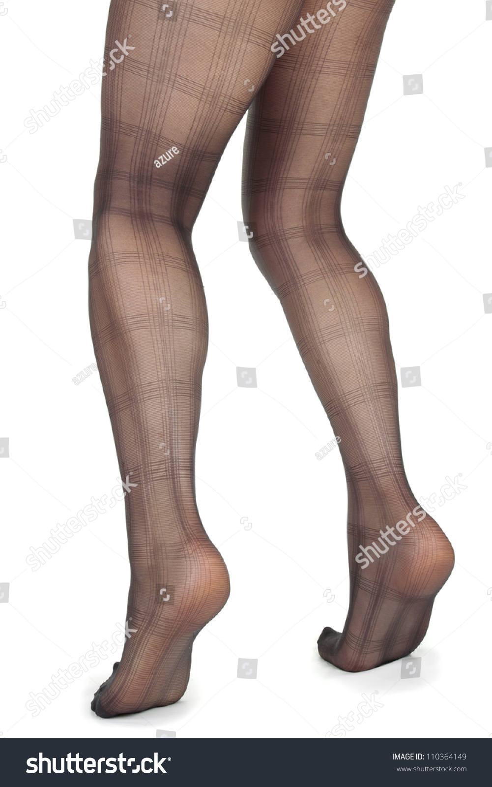 33c4f98e5 Woman Legs Wearing Black Lace Tights Stock Photo (Edit Now ...