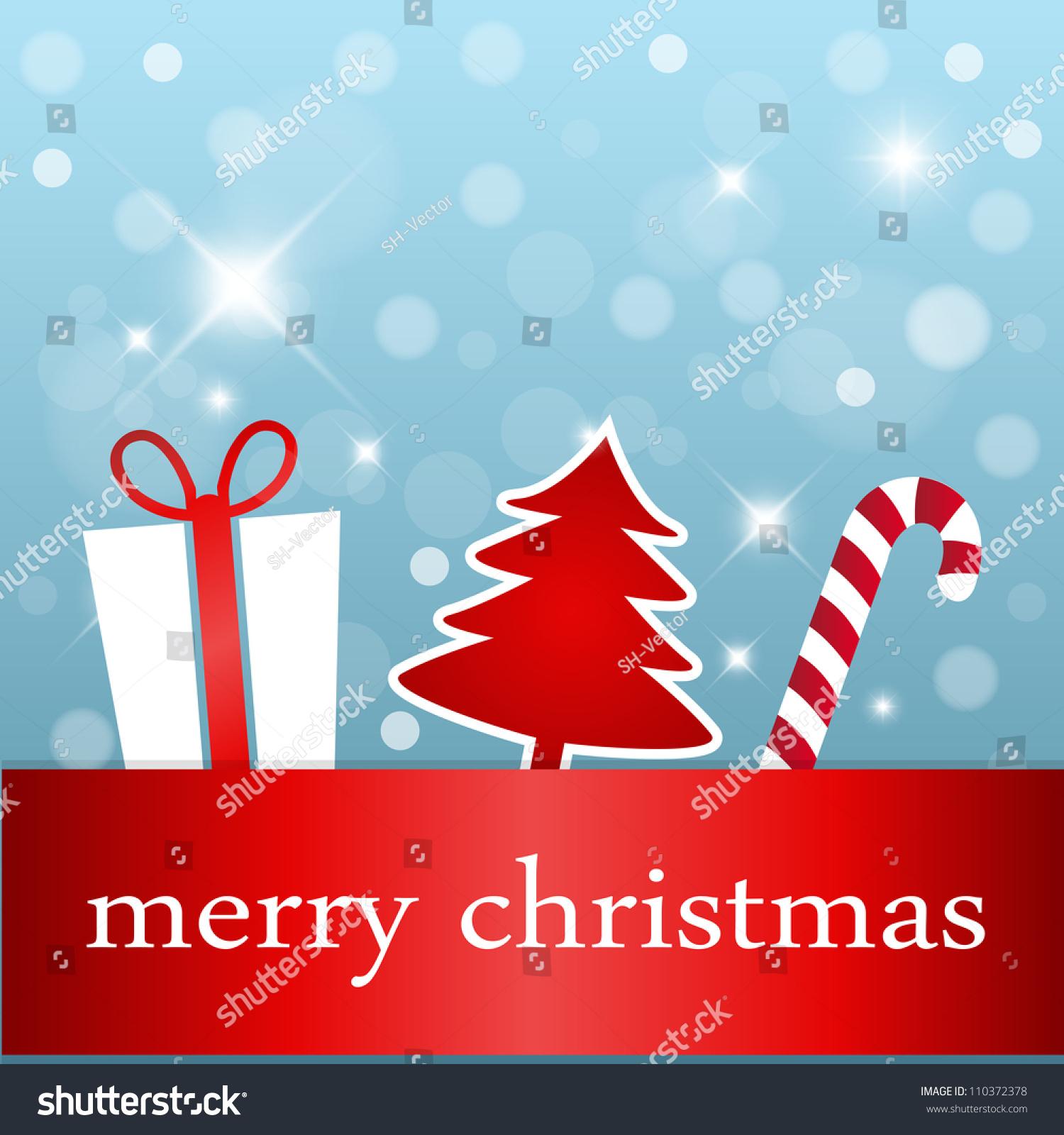 Creative Christmas Card Stock Vector Royalty Free 110372378