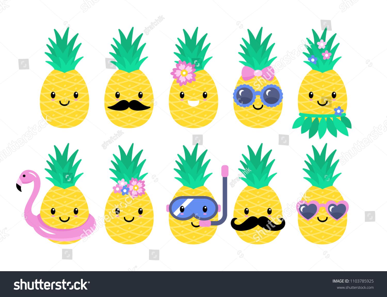 NEW Tropical yellow pineapple pin badge summer holiday beach