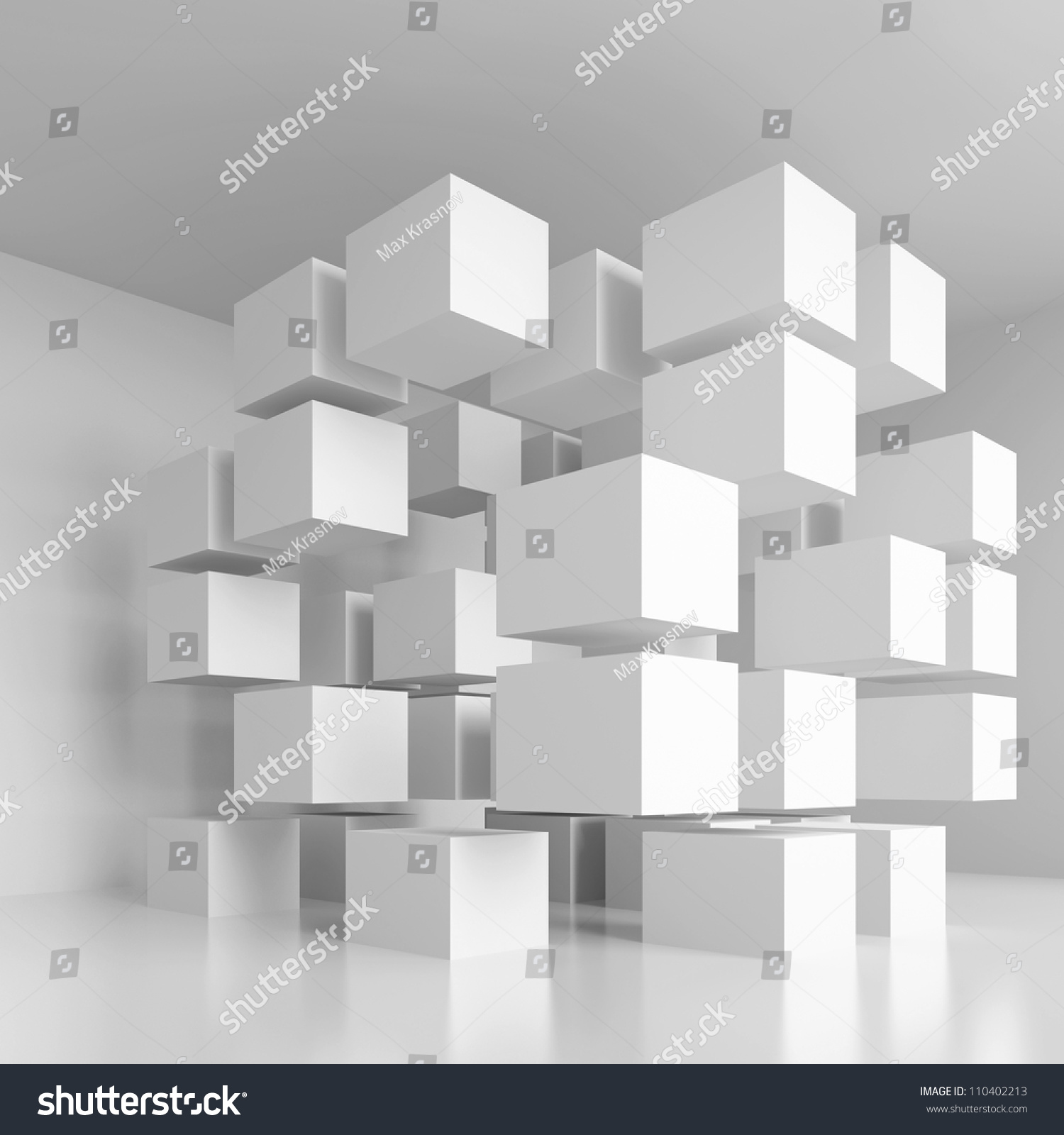 Creative Interior Design: Creative Interior Design Stock Illustration 110402213