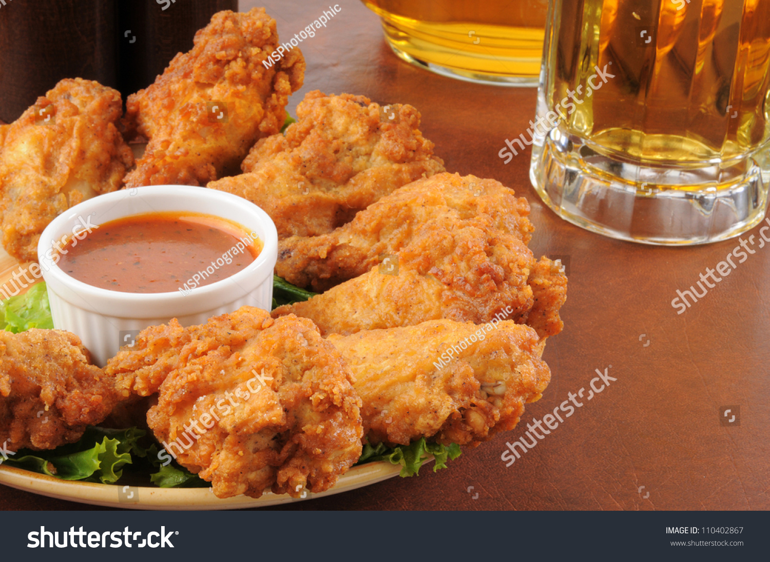 Chicken and beer - photo#21