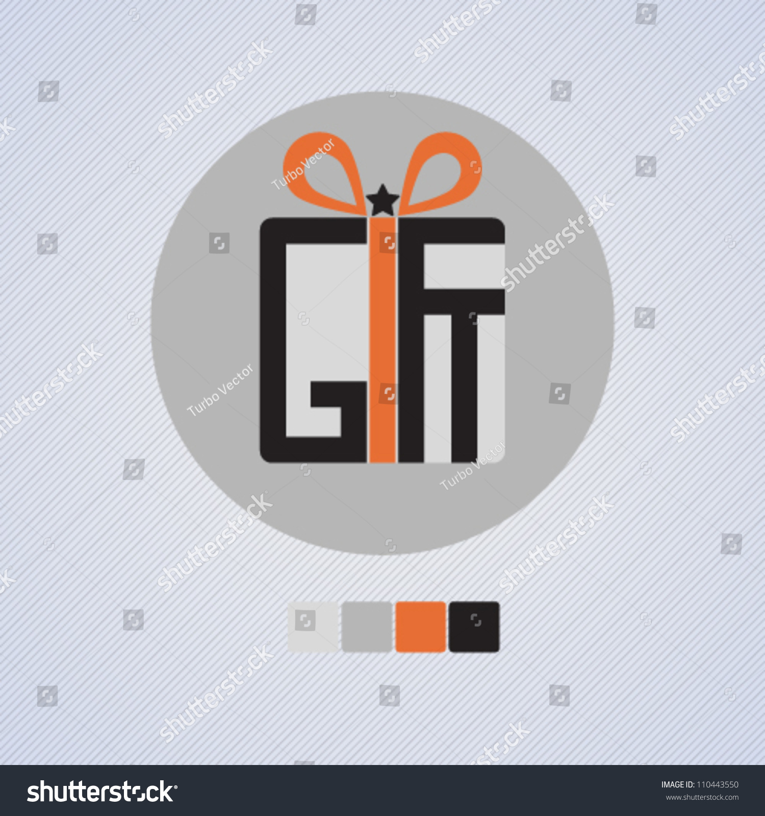 Stylized simple gift icon gift word stock vector 110443550 stylized and simple gift icon with gift word vector illustration negle Gallery