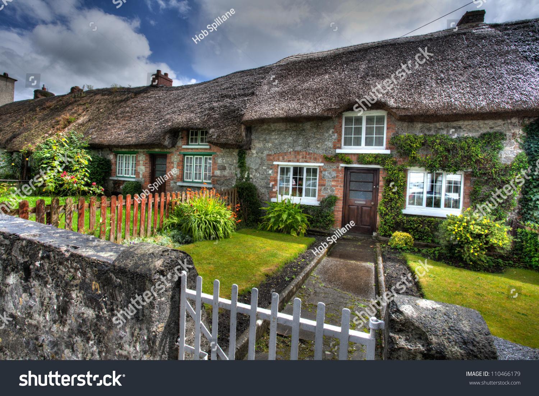 Irish cottages adare ireland stock photo 110466179 for Adare house