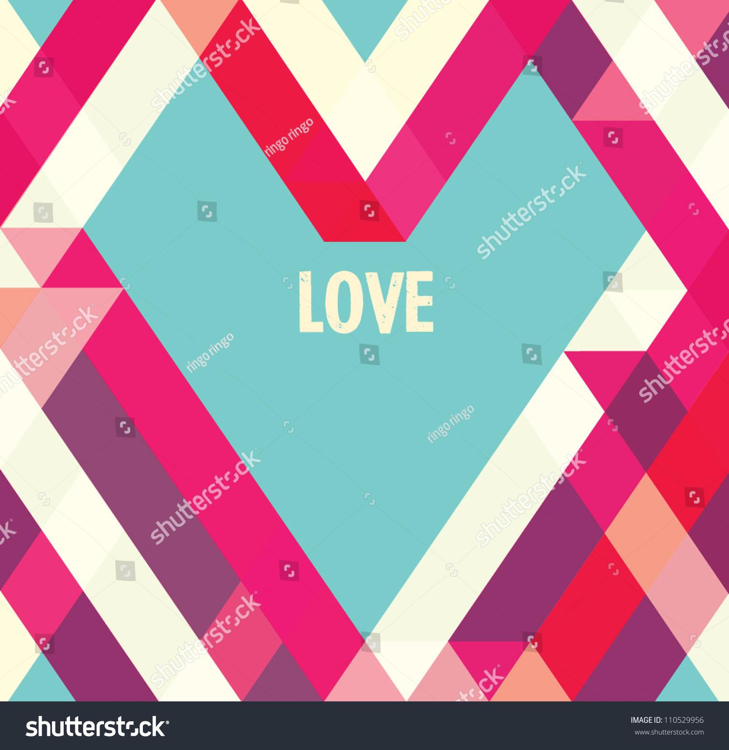 Valentines Day Card Abstract Web Designvectorwallpaper – Valentines Card Background