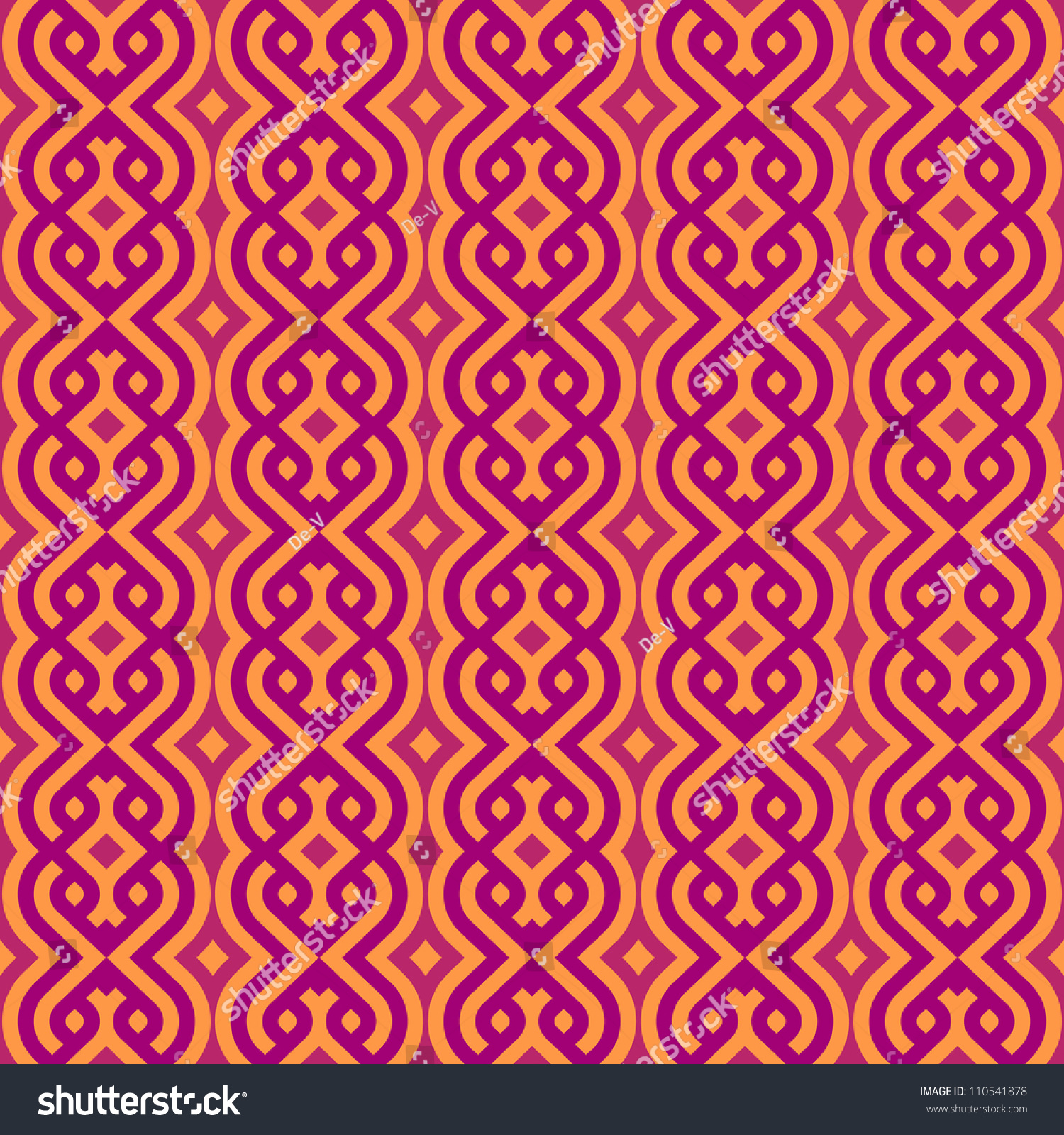 Abstract Vintage Geometric Wallpaper Pattern Seamless