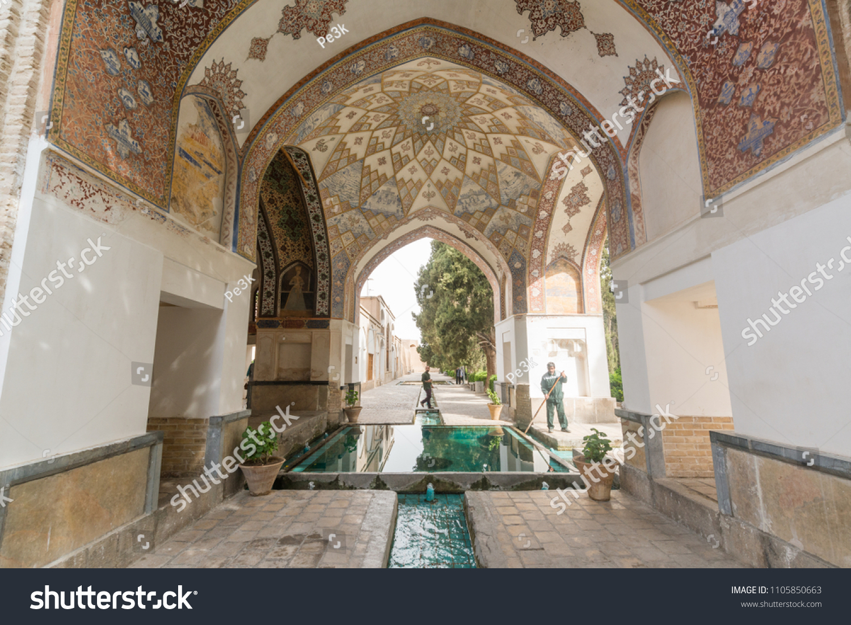 Kashan Iran April 30 2018 Fingarden Stock Photo (Royalty Free ...