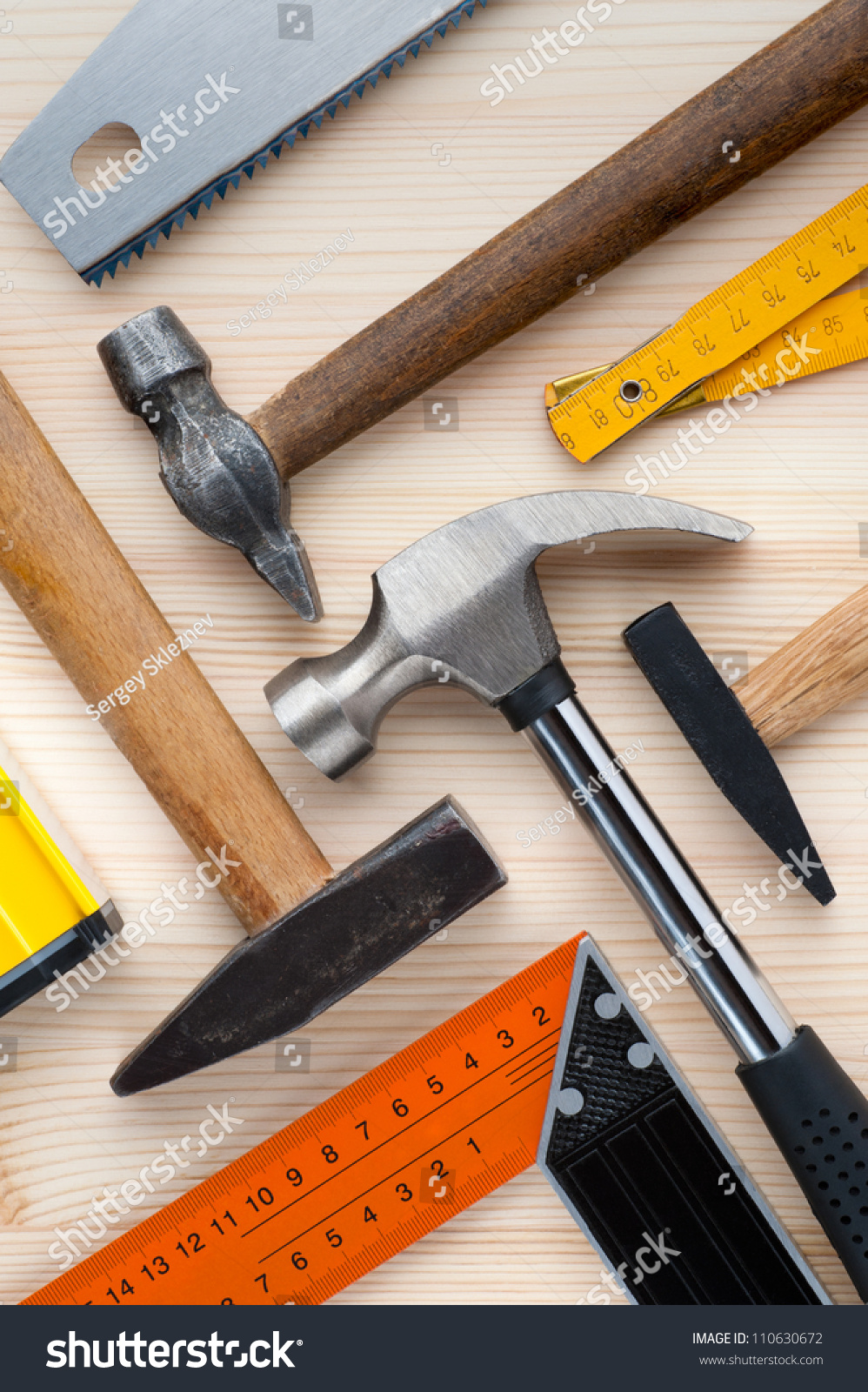 Woodworking equipment for construction and repair 63