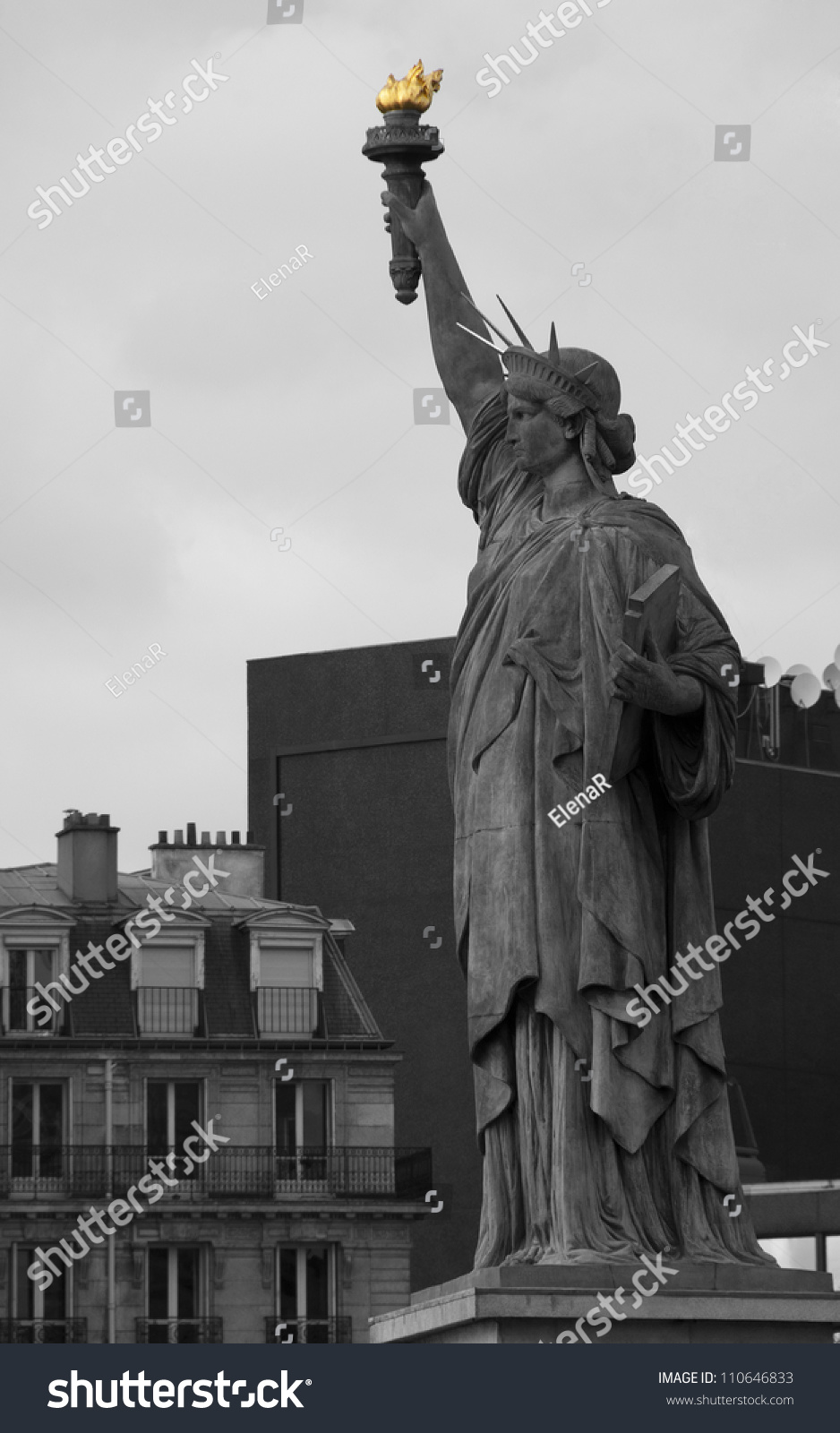 Statue of Liberty Paris France
