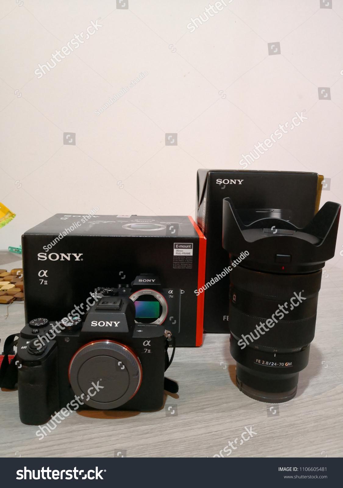 Bangkok Thailand May 25 2018 Sony Alpha Stock Photo Edit Now A7r Ii Body A7 Mirrorless Digital Camera