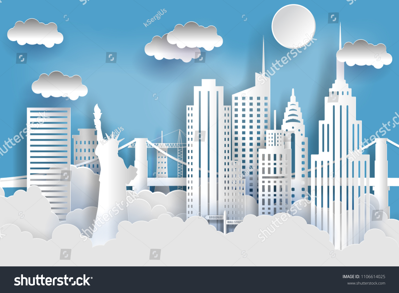 stock-vector-new-york-city-concept-paper