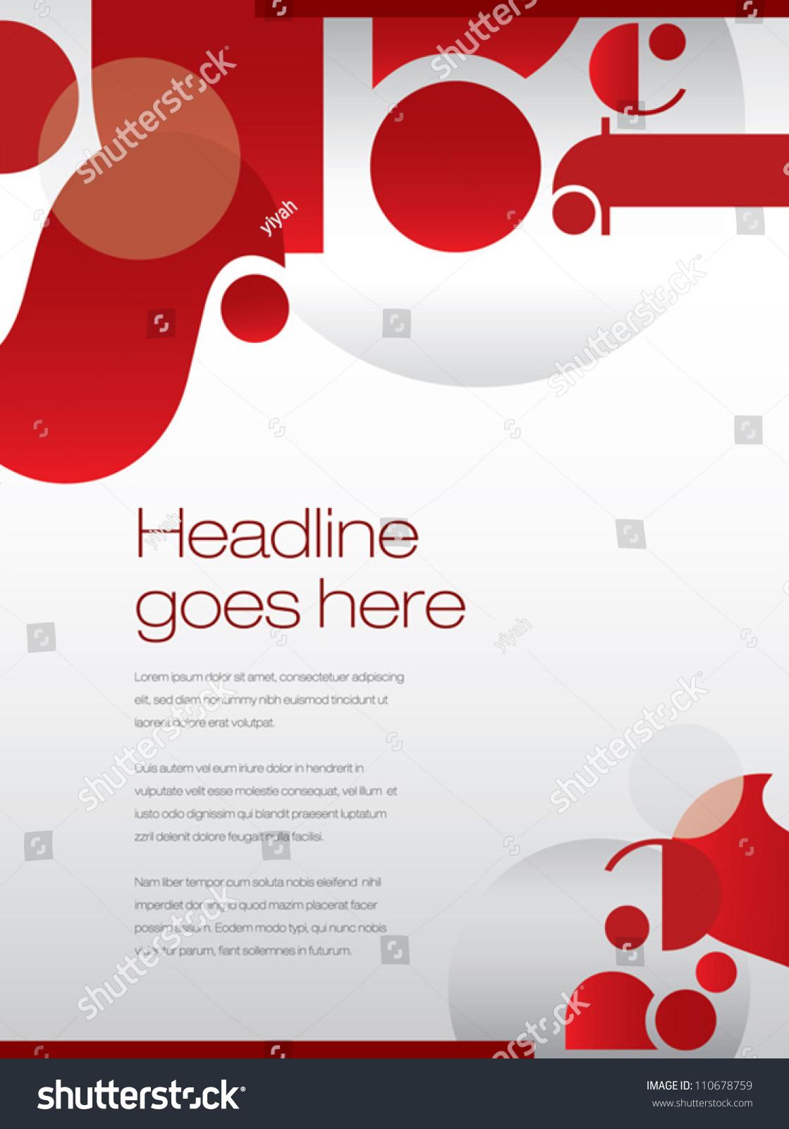 printposterbackgrounddesign layoutgraphics stock vector