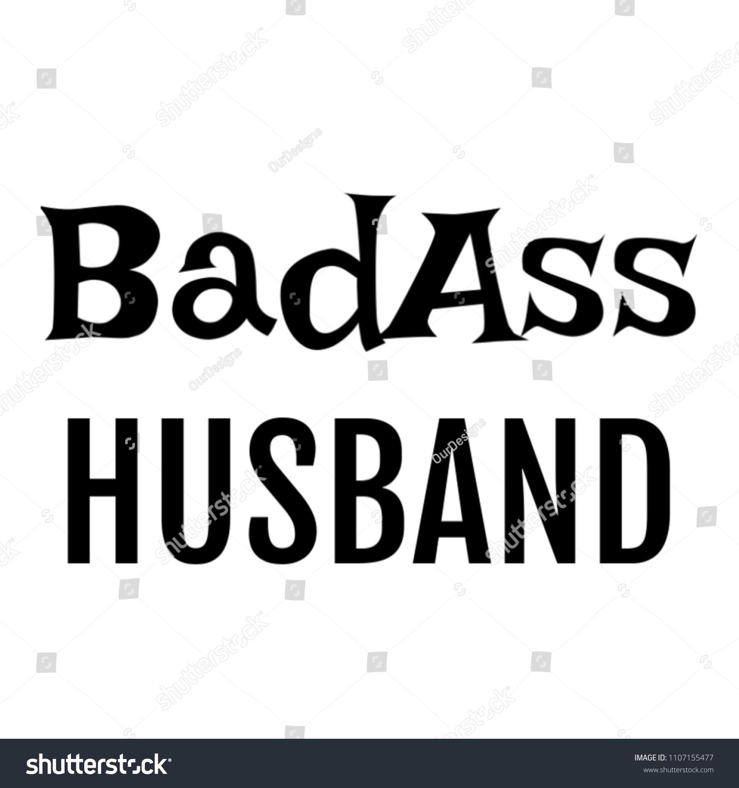 Badass Husband Gifts Him Wife On Stock Illustration 1107155477 ...