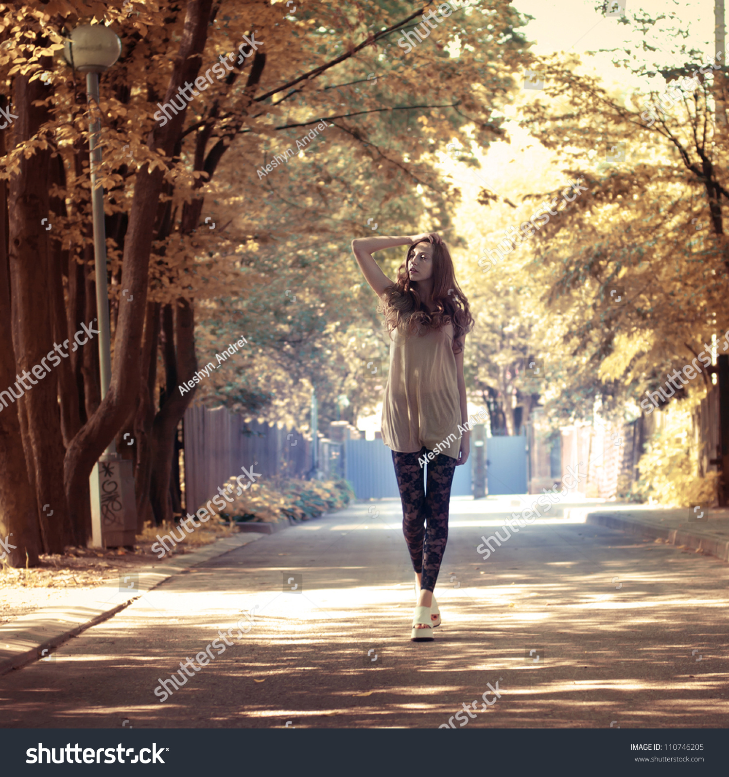 Girl Walking Away Stock Footage Video | Shutterstock