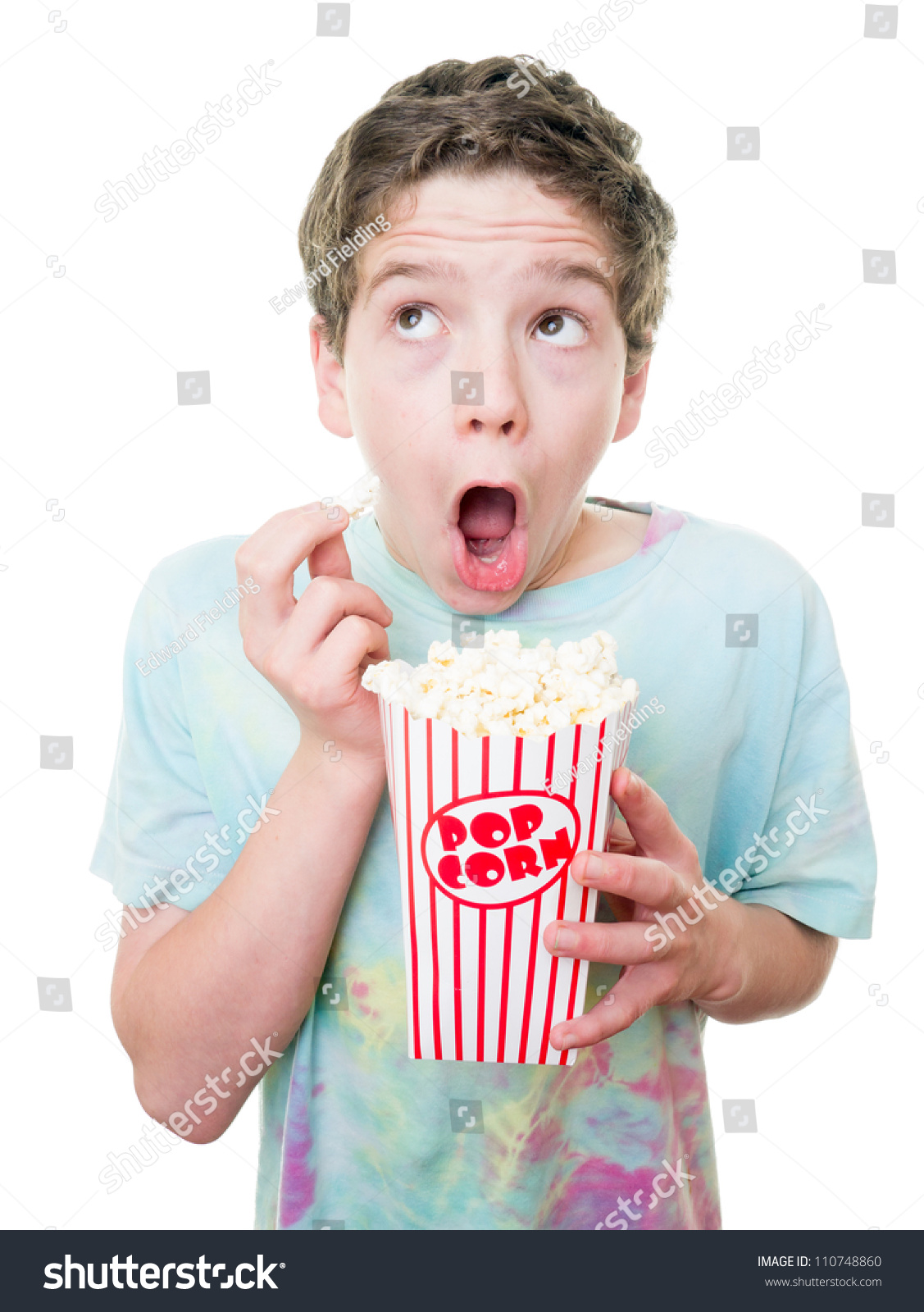 Young Teen Boy Movies Stock Photo (Edit Now) 110748860