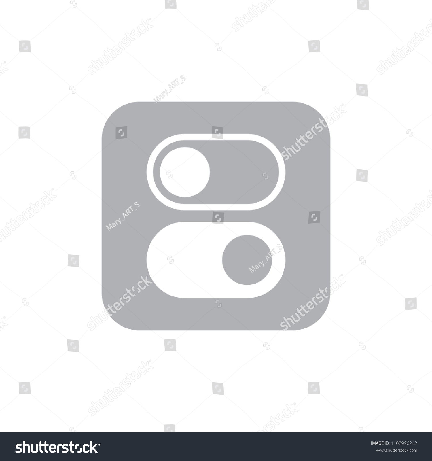 Switch Toggle Buttons Sliders ON OFF Stock Vector (Royalty Free ...