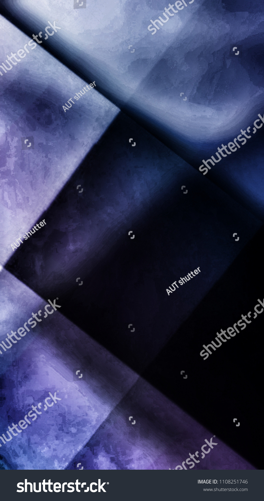 Abstract Dark Stainless Texture Background Crystal Style Creative