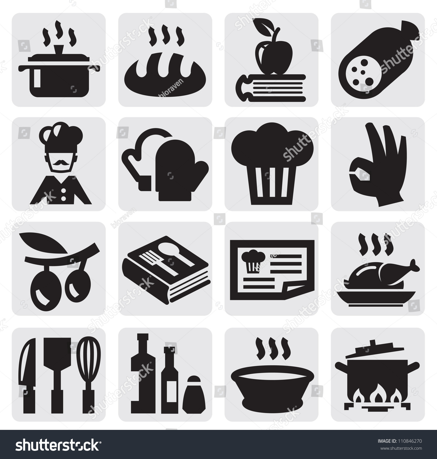 Recipes Icon Vector | www.imgkid.com - The Image Kid Has It!