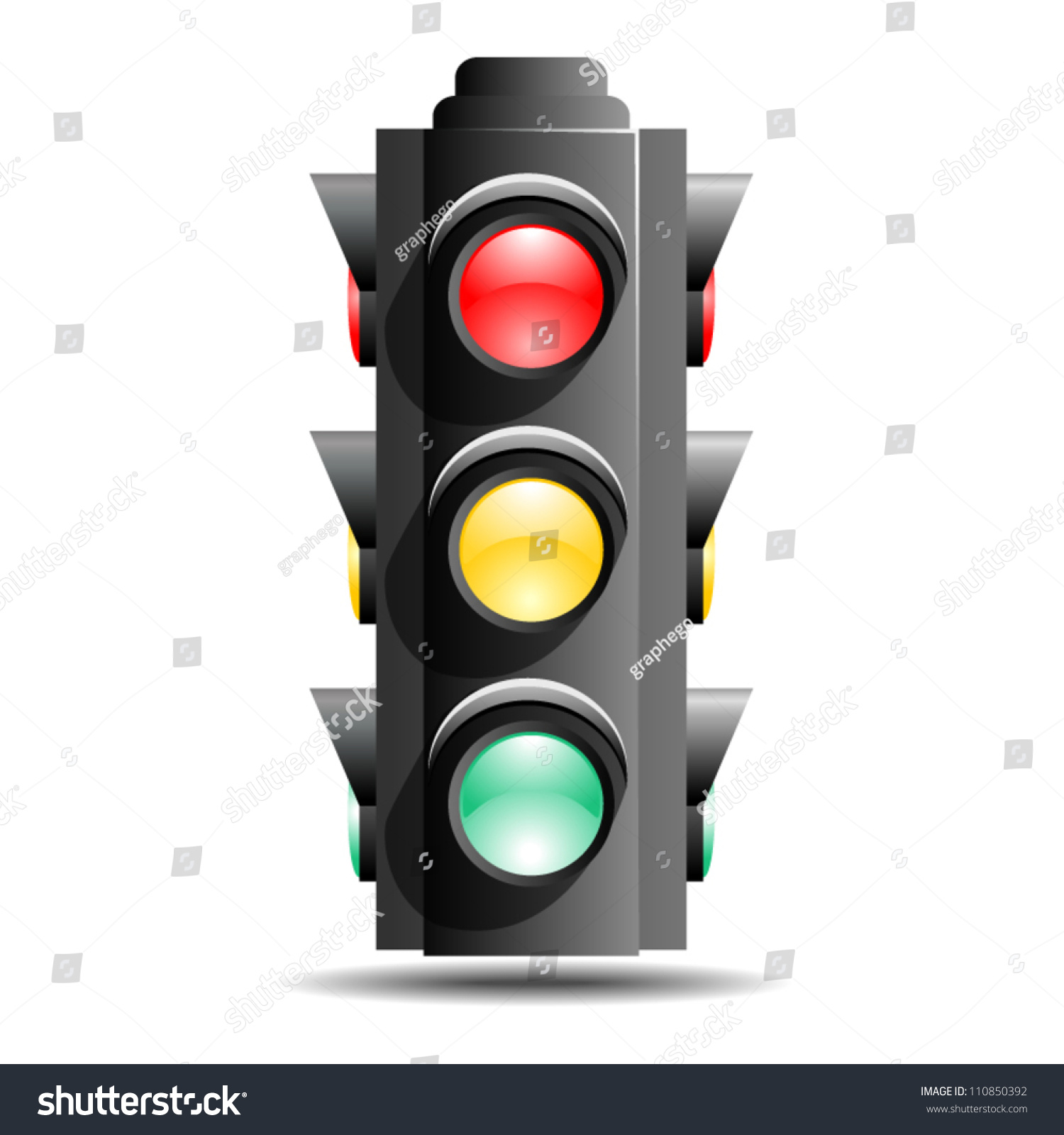 how to change red lights to green