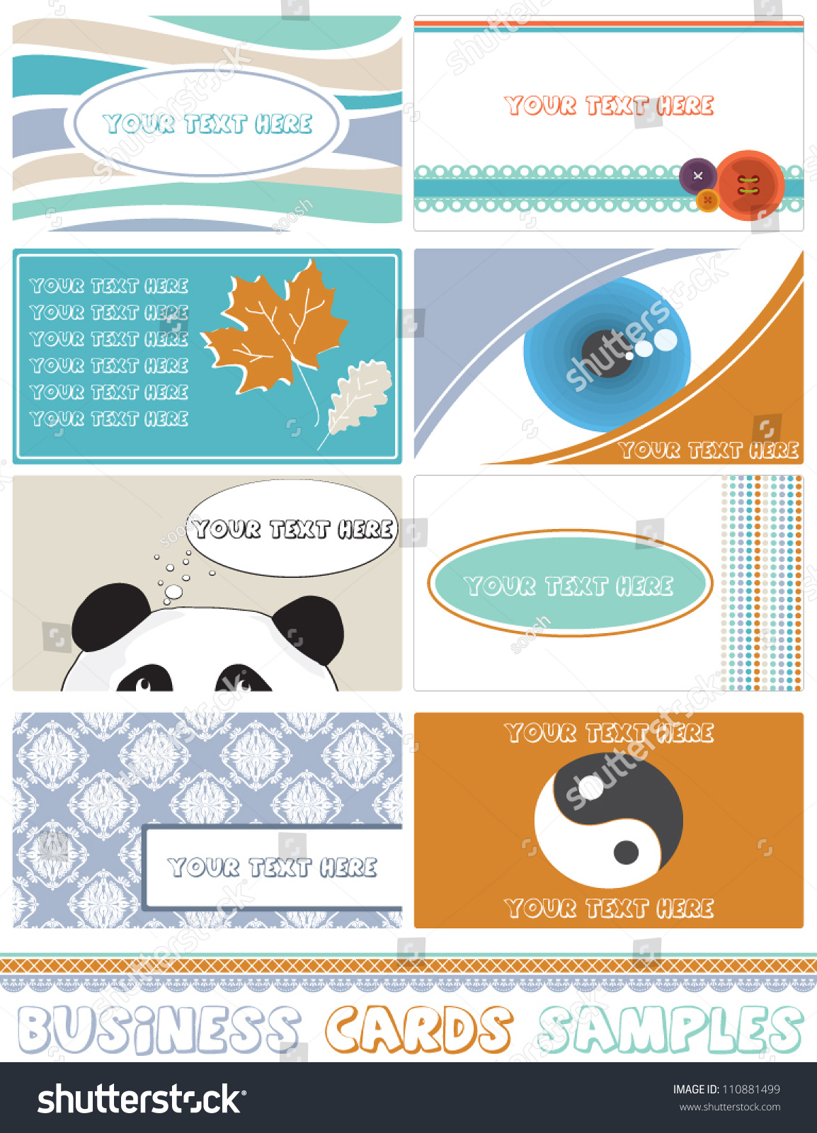 Free Business Card Samples Images - Free Business Cards