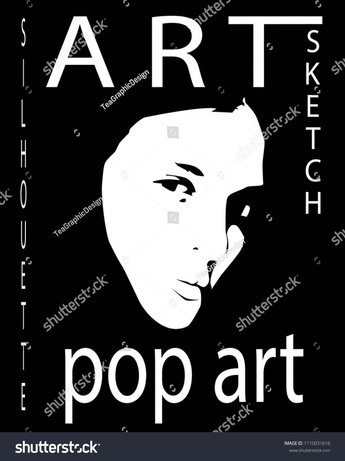 Постер лицо девушки