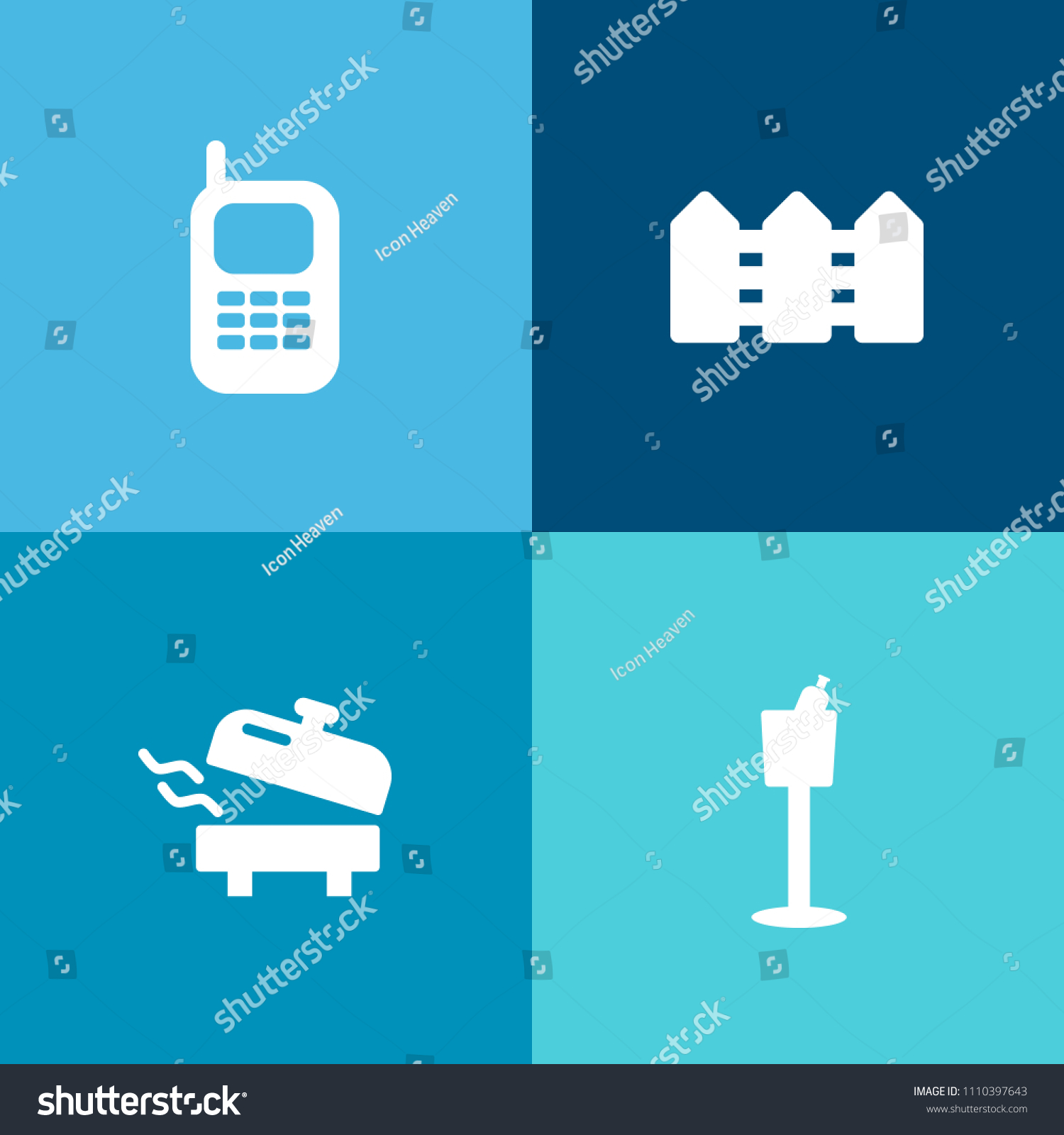 Modern Simple Vector Icon Set On Stock Vector (Royalty Free ...