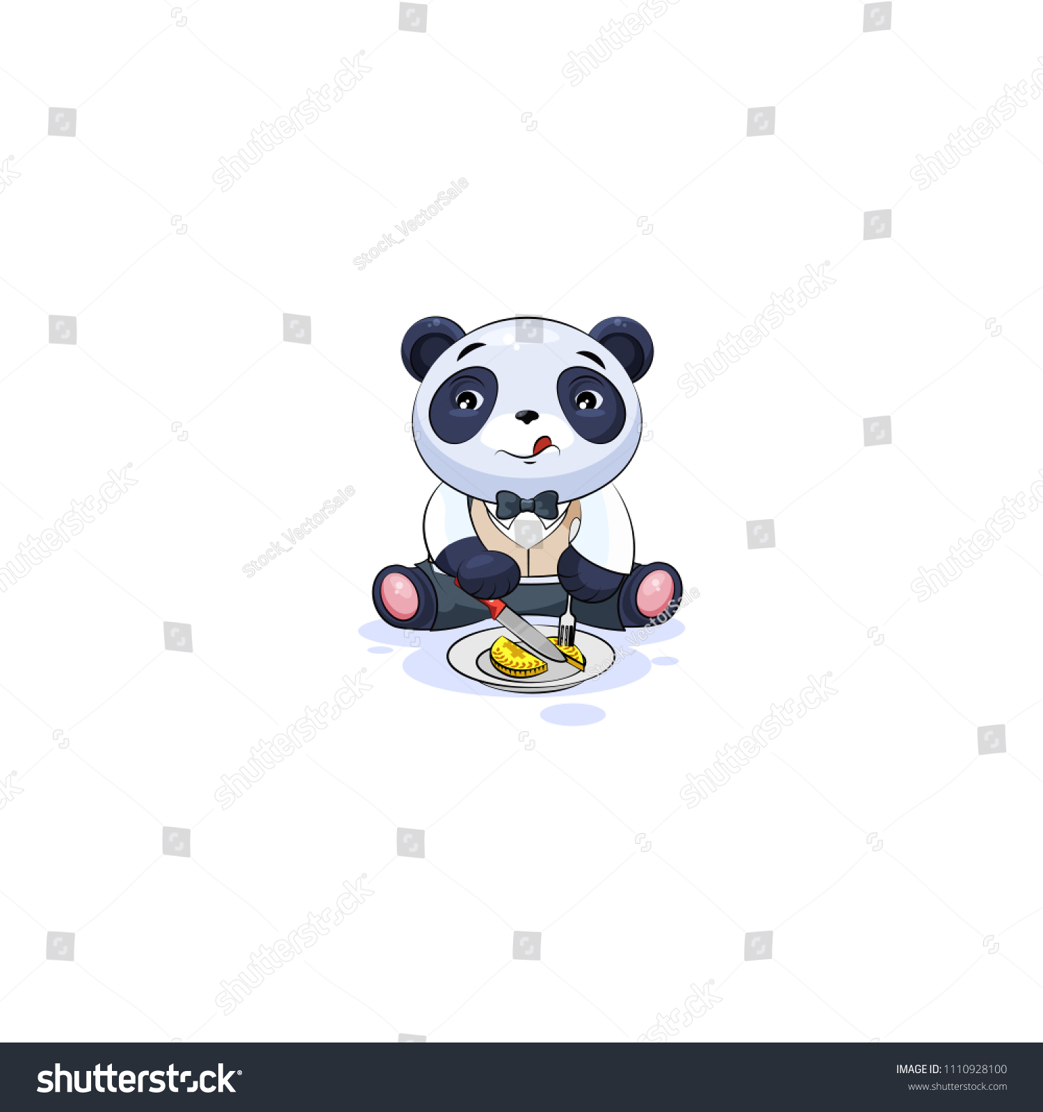 Vector Isolated Emoji Character Cartoon Wealth Stock Vector Royalty