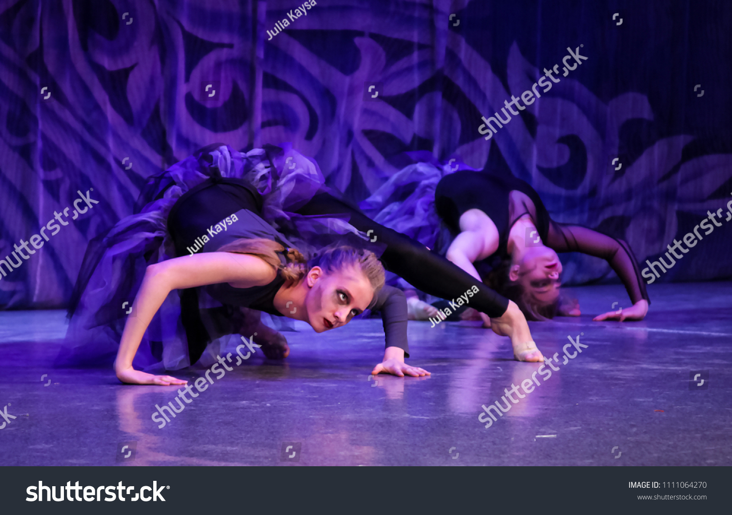 halloween dance holiday vampires werewolves witches stock photo