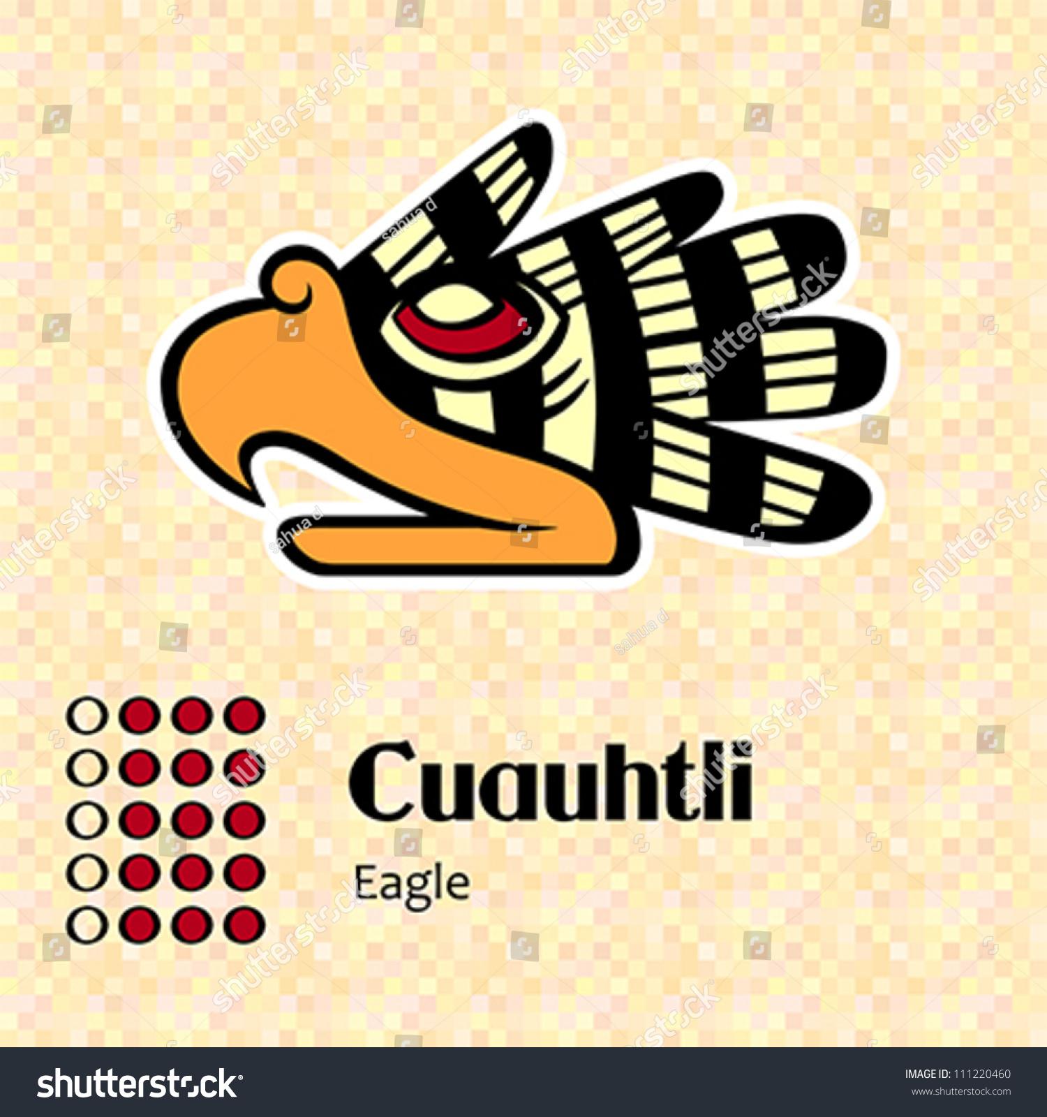 Aztec calendar symbols cuauhtli eagle 15 stock vector 111220460 aztec calendar symbols cuauhtli or eagle 15 biocorpaavc Gallery