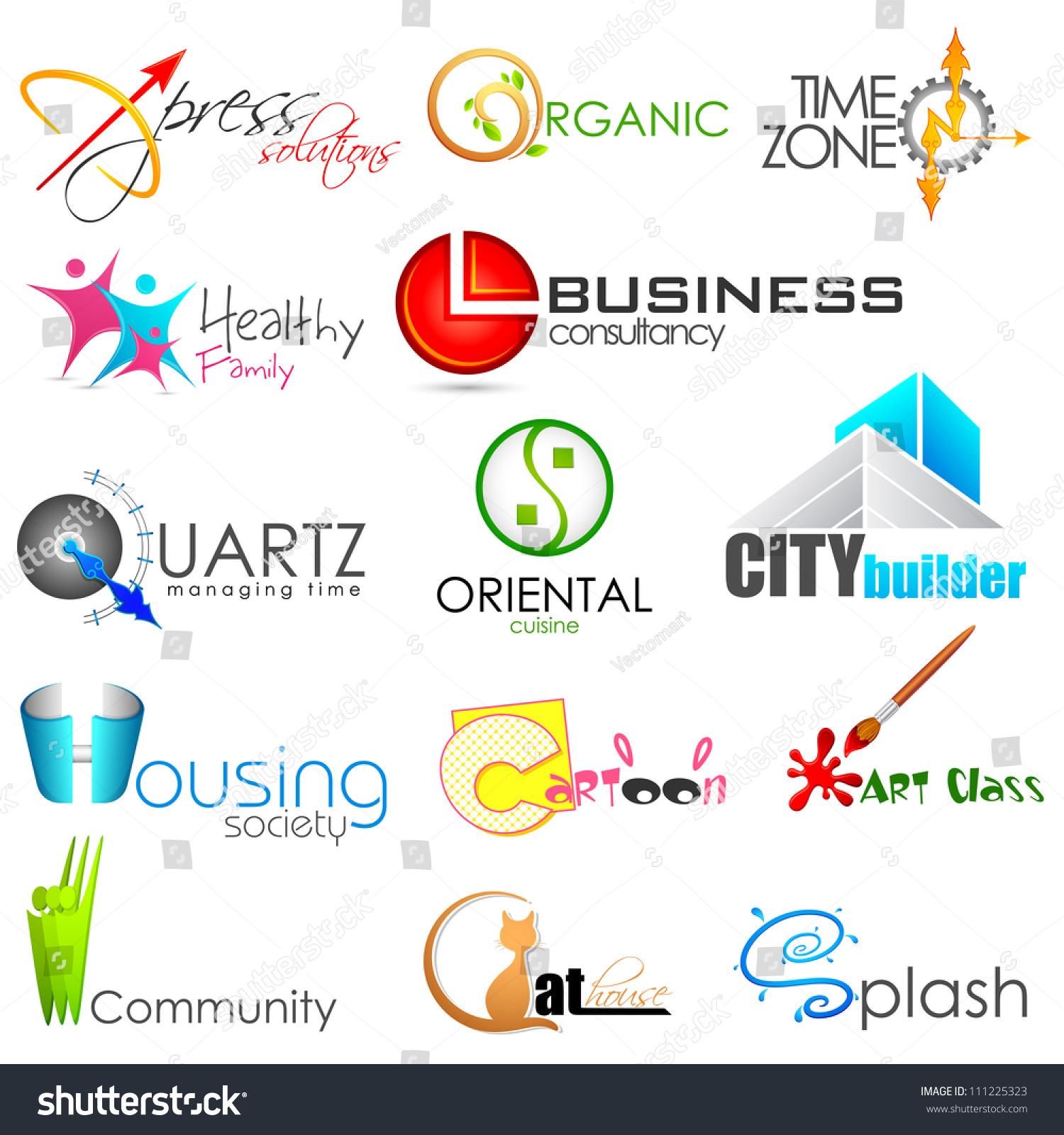Illustration set symbol logo designing stock vector 111225323 illustration of set of symbol for logo designing buycottarizona Image collections
