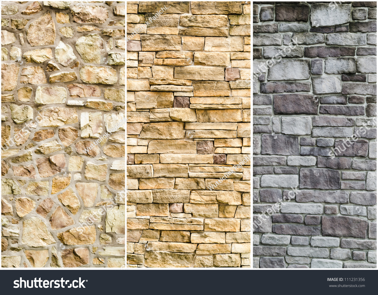 Enchanting Decorative Stone Wall Cladding Vignette - Wall Art ...