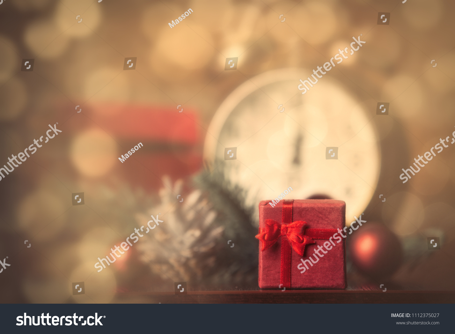 Photo Gifts Alarm Clock Lolipop Christmas Stock Photo (Royalty Free ...