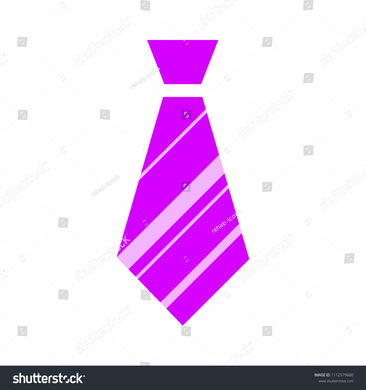 Vector Tie Textile Apparel Fashion Isolated Stock Vector Royalty