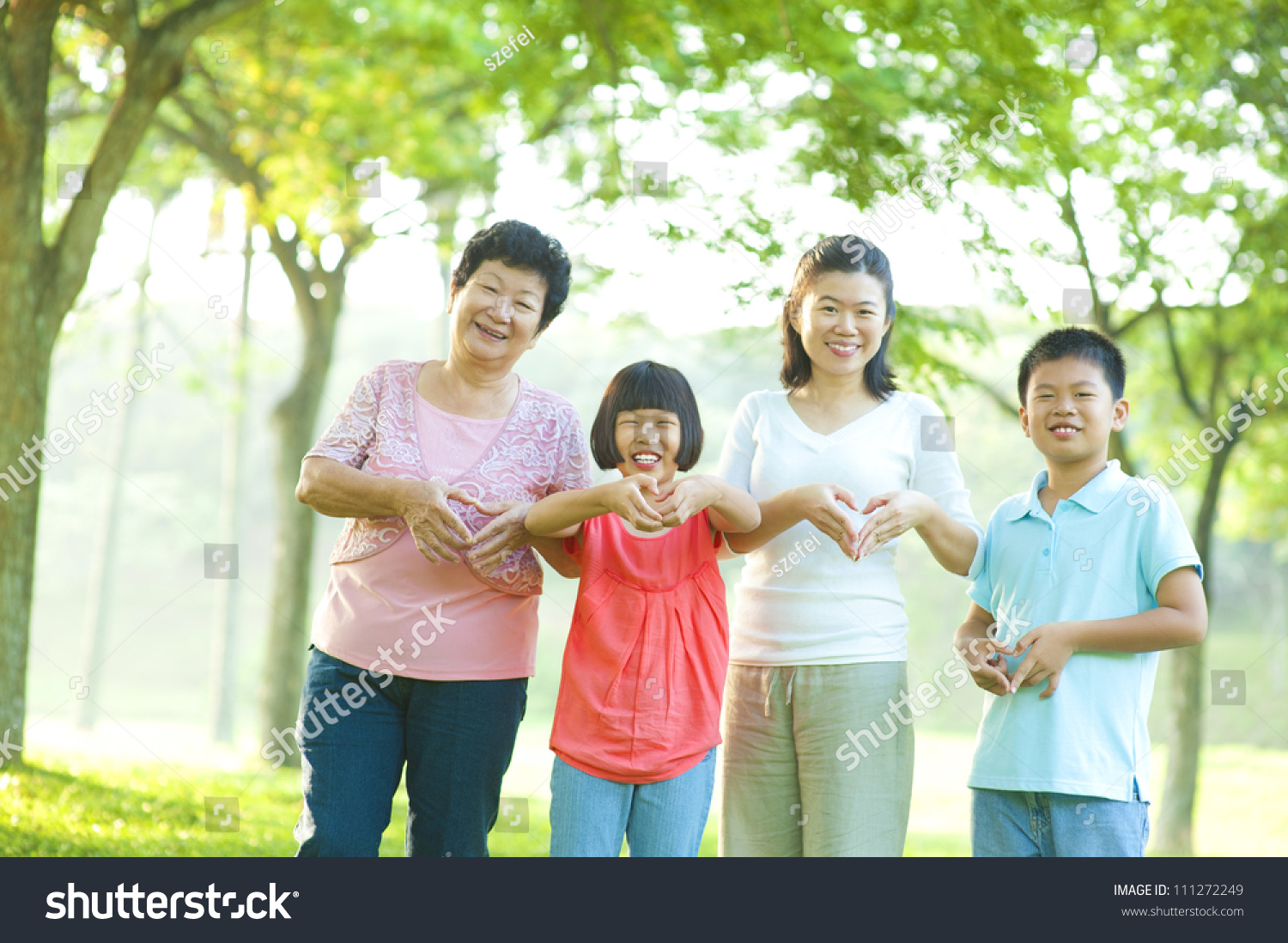 Asian loving family matchless