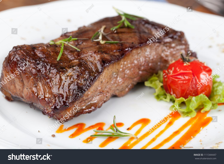 Grilled Sirloin Steak Stock Photo 111344447 : Shutterstock