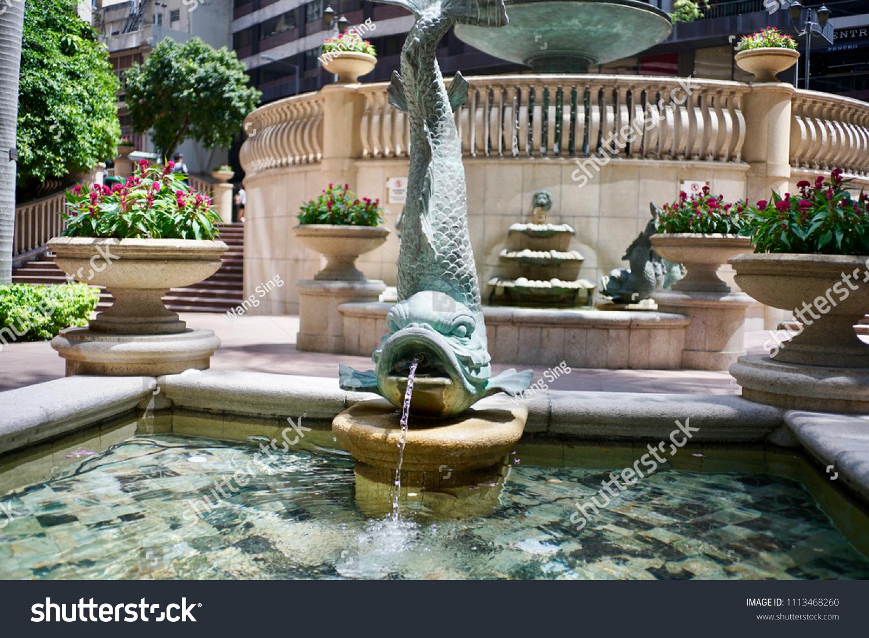 Wang on wang at the fountain