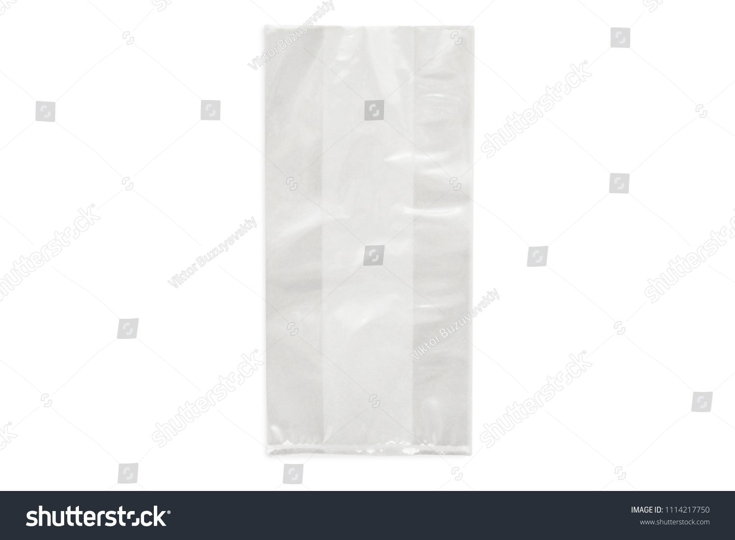 Cellophane Bag Candy White Bag Package Stock Photo Edit Now