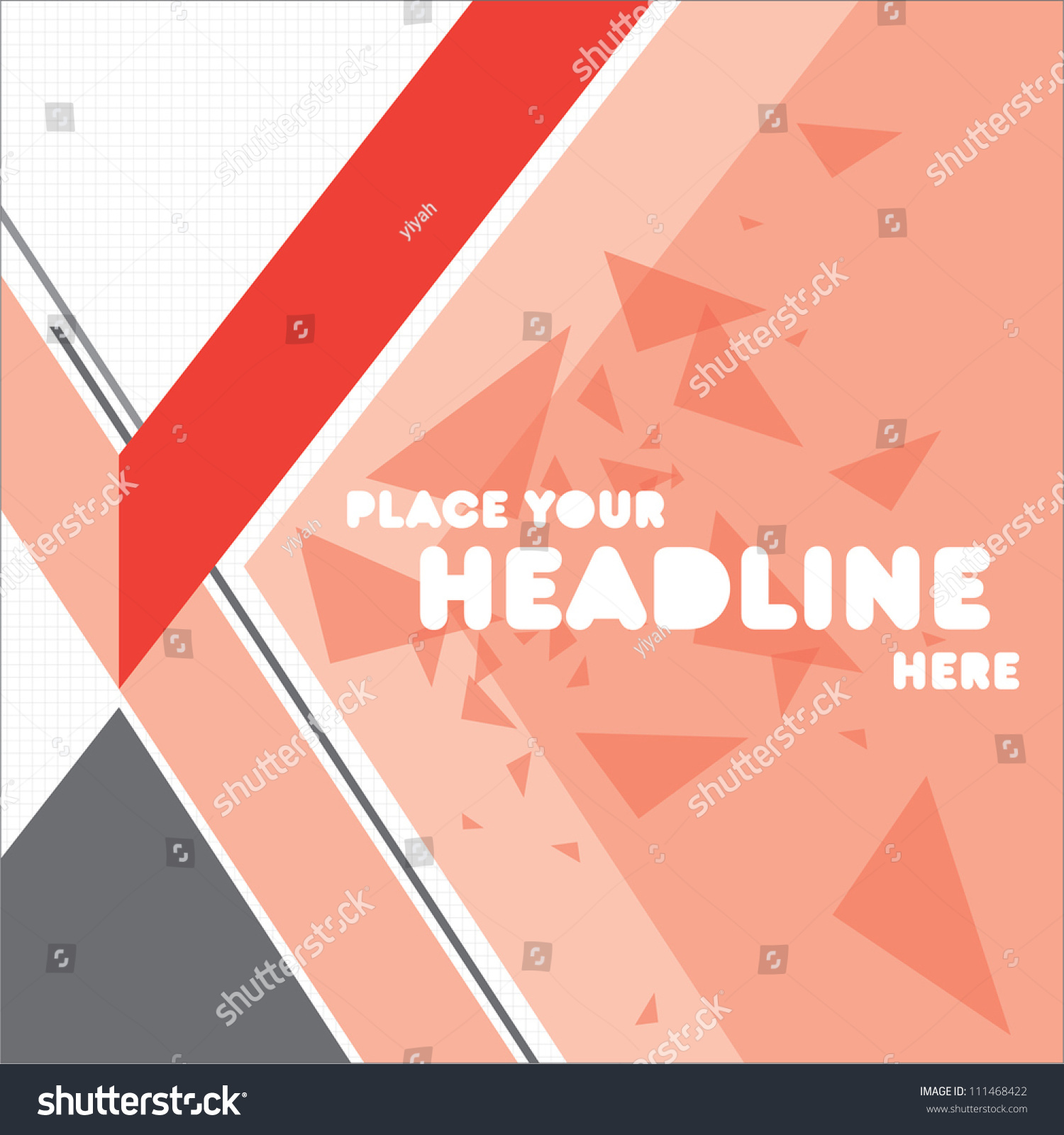 Print/Cover Design Template/Layout Design/Background