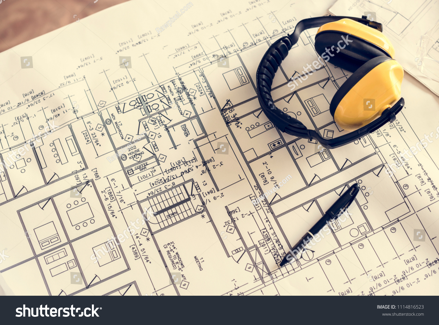 Blueprint drawing design pattern stock photo royalty free blueprint drawing design pattern stock photo royalty free 1114816523 shutterstock malvernweather Images