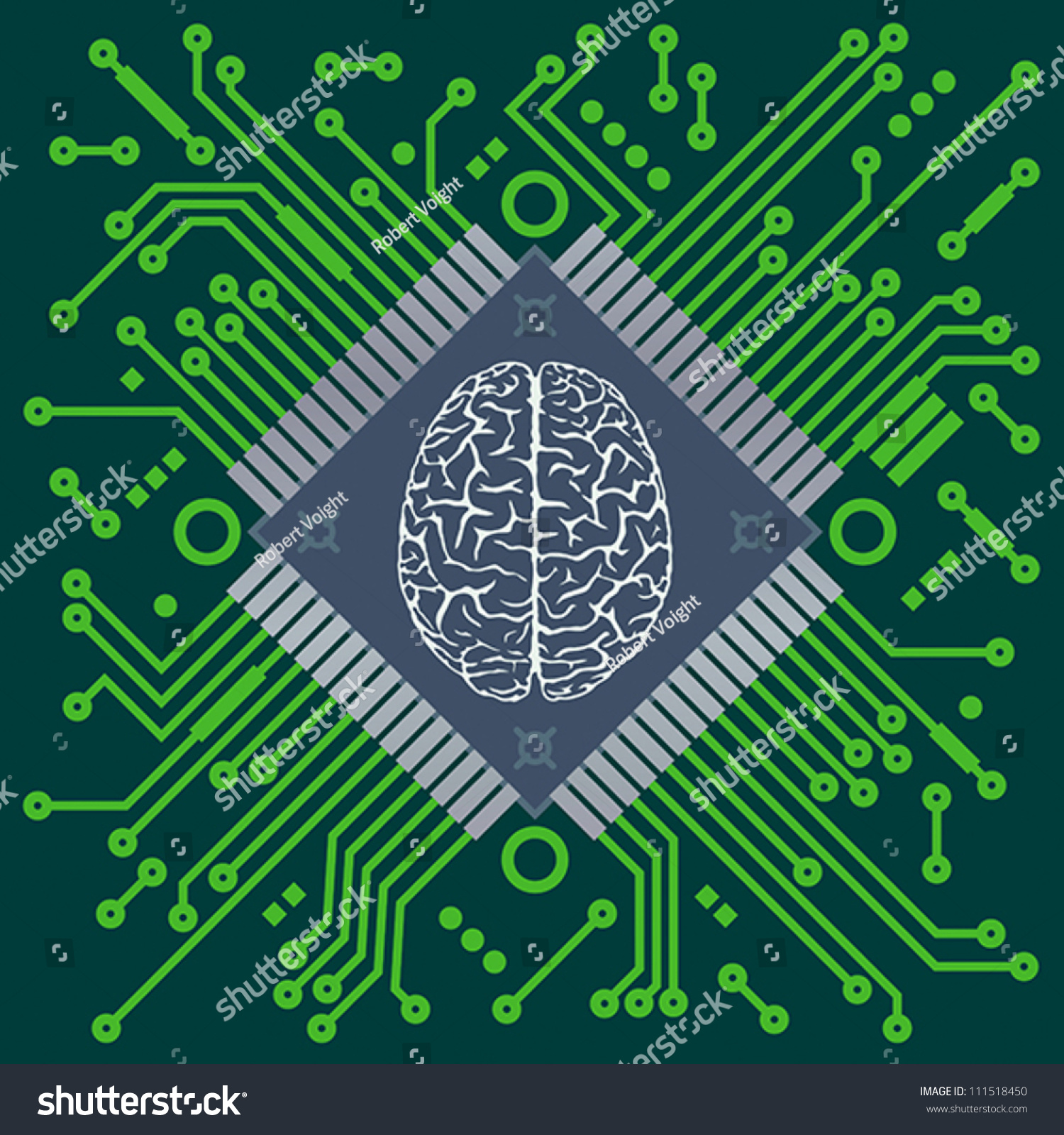 """a look at the computer brain the microprocessor chip Almost every electronic product needs a """"brain"""" of some sorts to  that is external to the microprocessor chip  introduction to microcontrollers."""