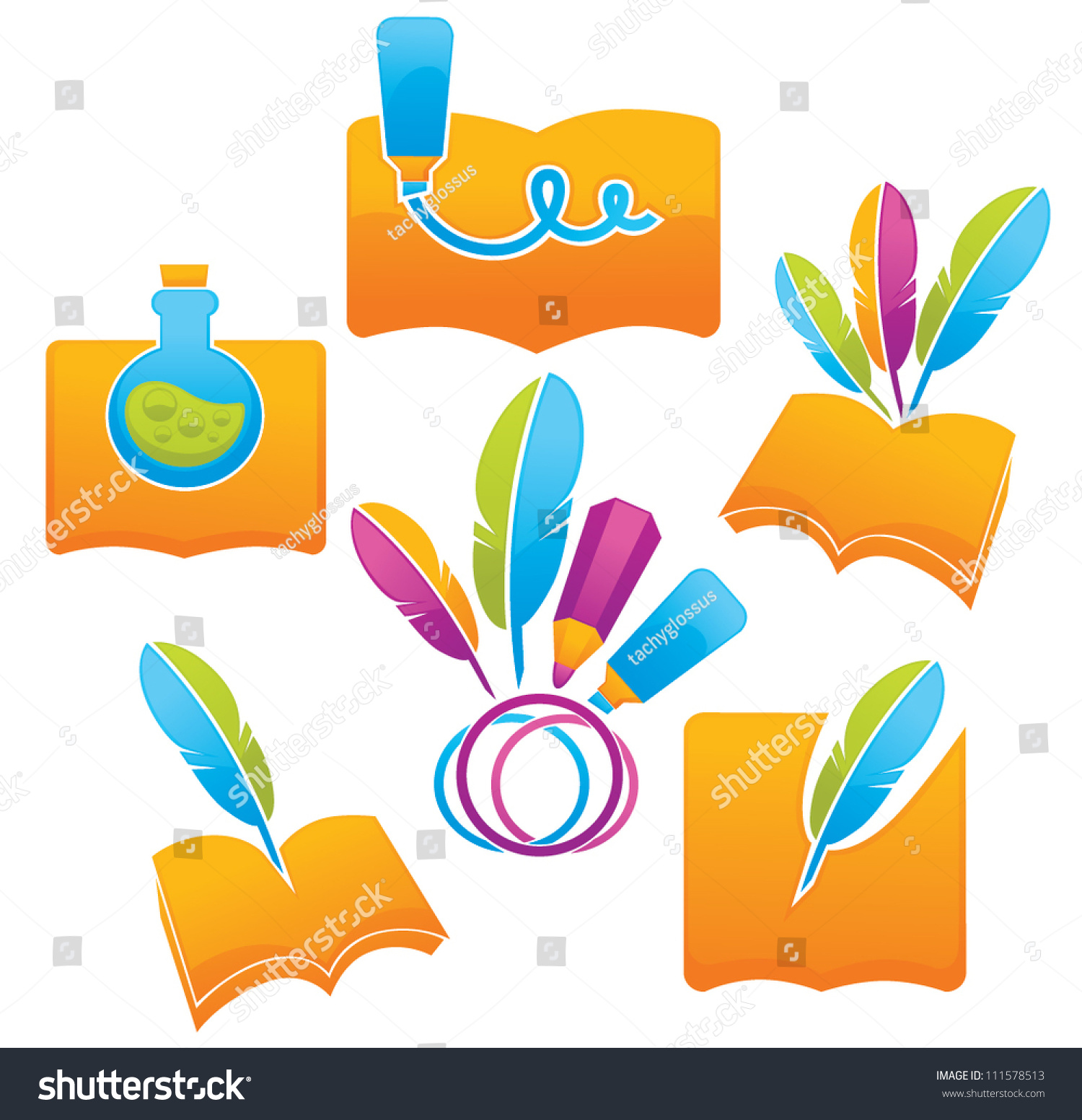 All about writing vector collection symbols stock vector 111578513 all about writing vector collection of symbols signs and icons biocorpaavc