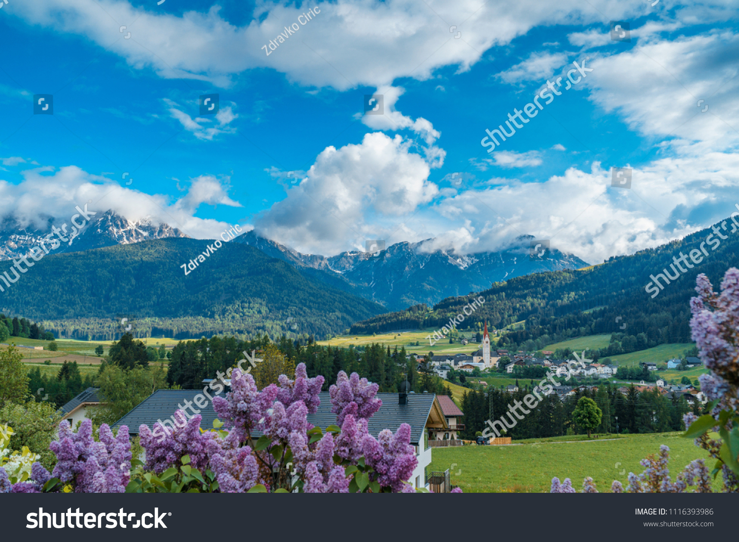 outlet store 7520b 955e7 Valdaora Di Sotto Dolomites Italy Stock Photo (Edit Now ...