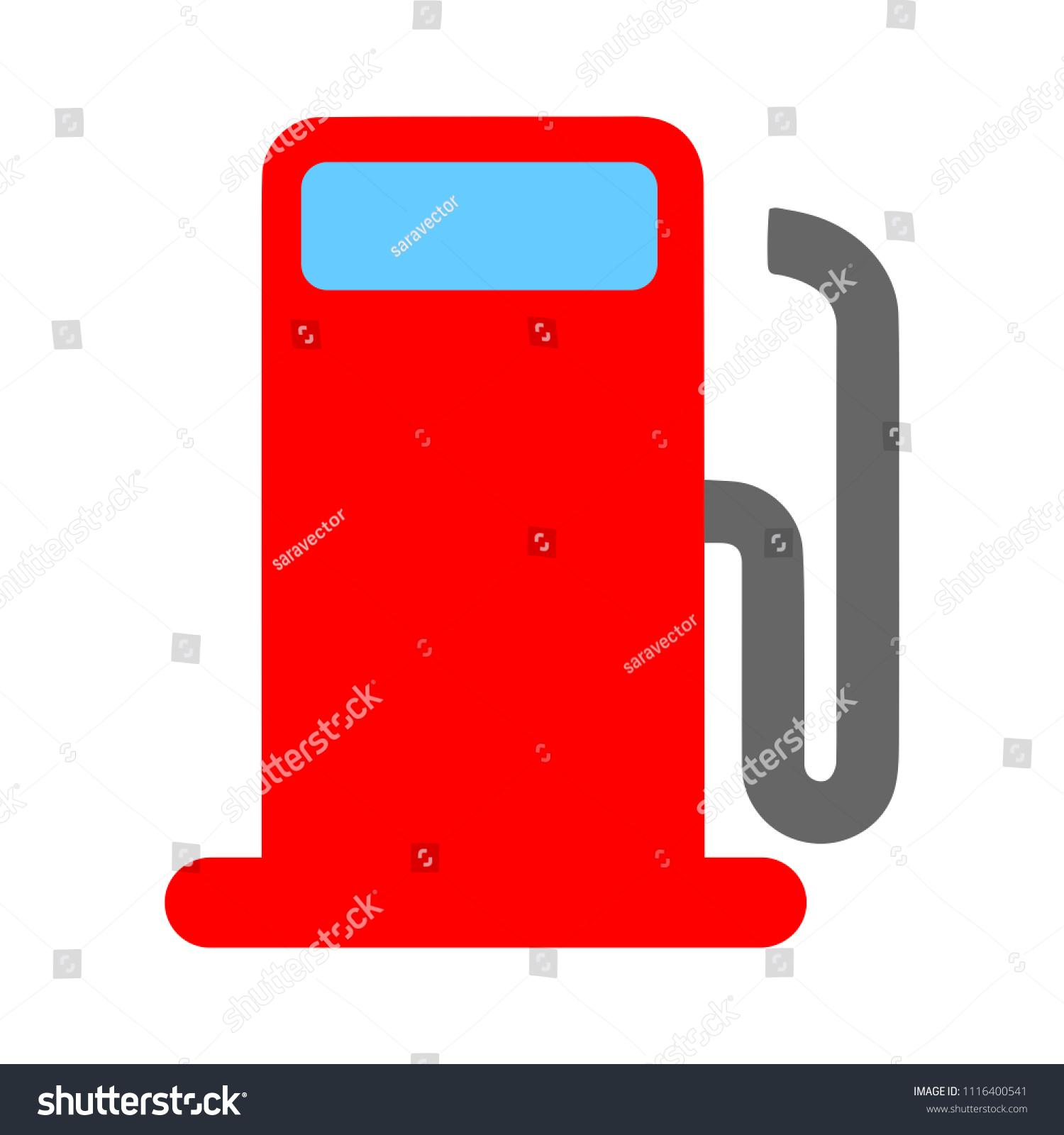 Gas Station Symbol Gasoline Pump Petrol Stock Vector Royalty Free