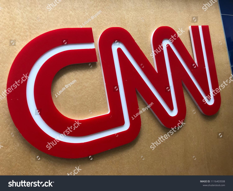 Florida United States Cnn Logo Fort Stock Photo Edit Now